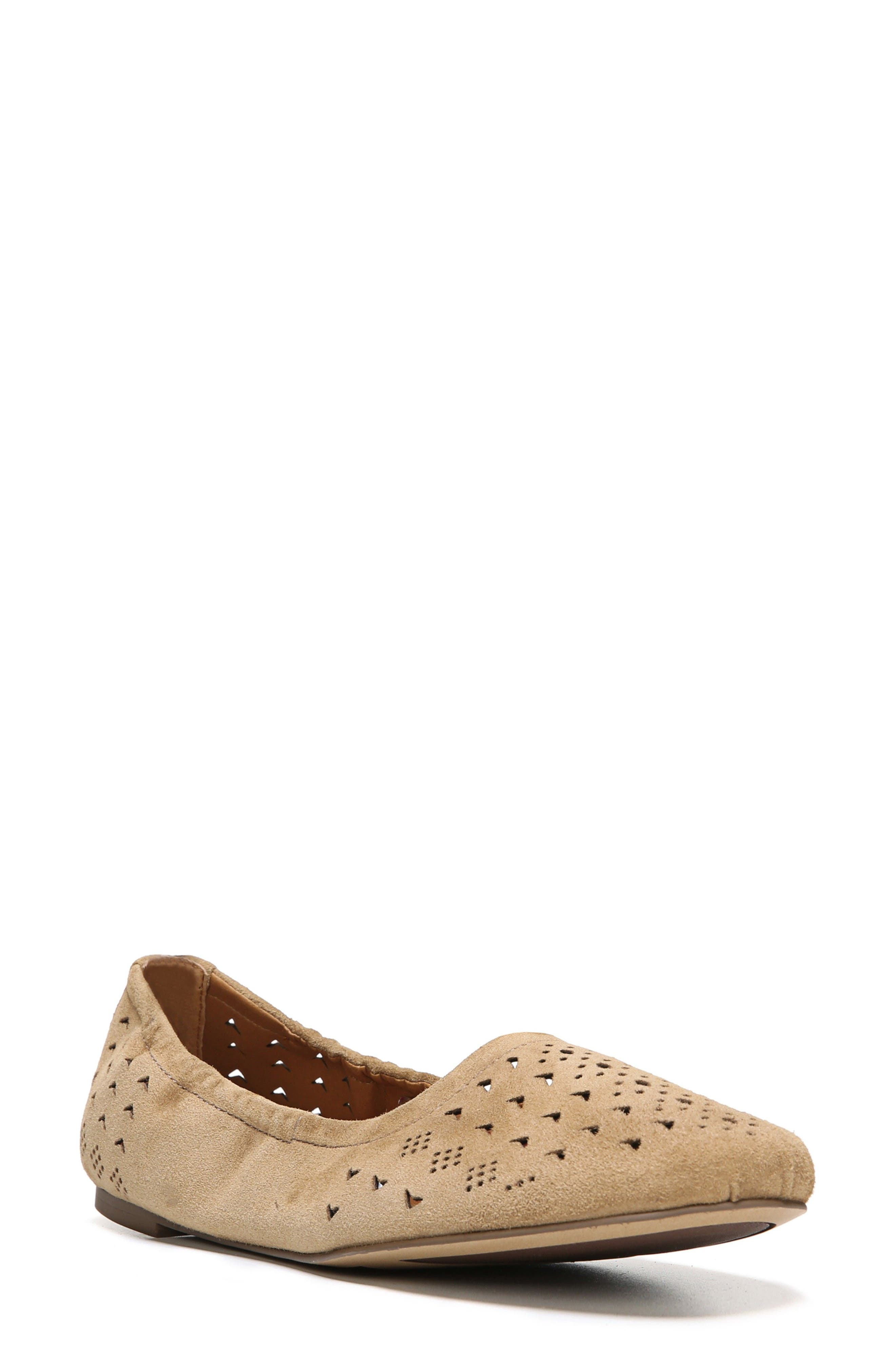 Alternate Image 1 Selected - SARTO by Franco Sarto Brewer Perforated Ballet Flat (Women)