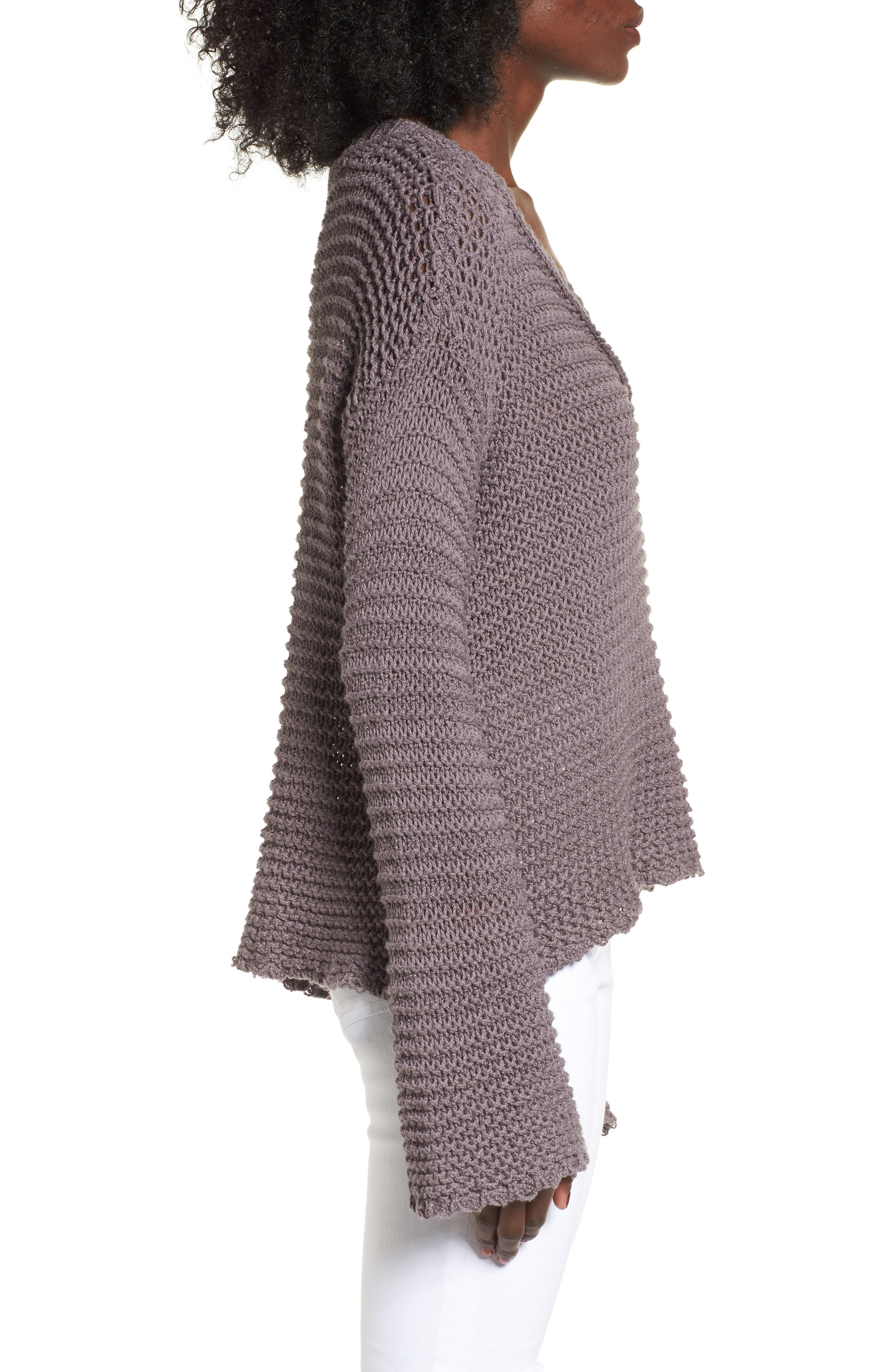 Hillary Sweater,                             Alternate thumbnail 3, color,                             Rabbitt