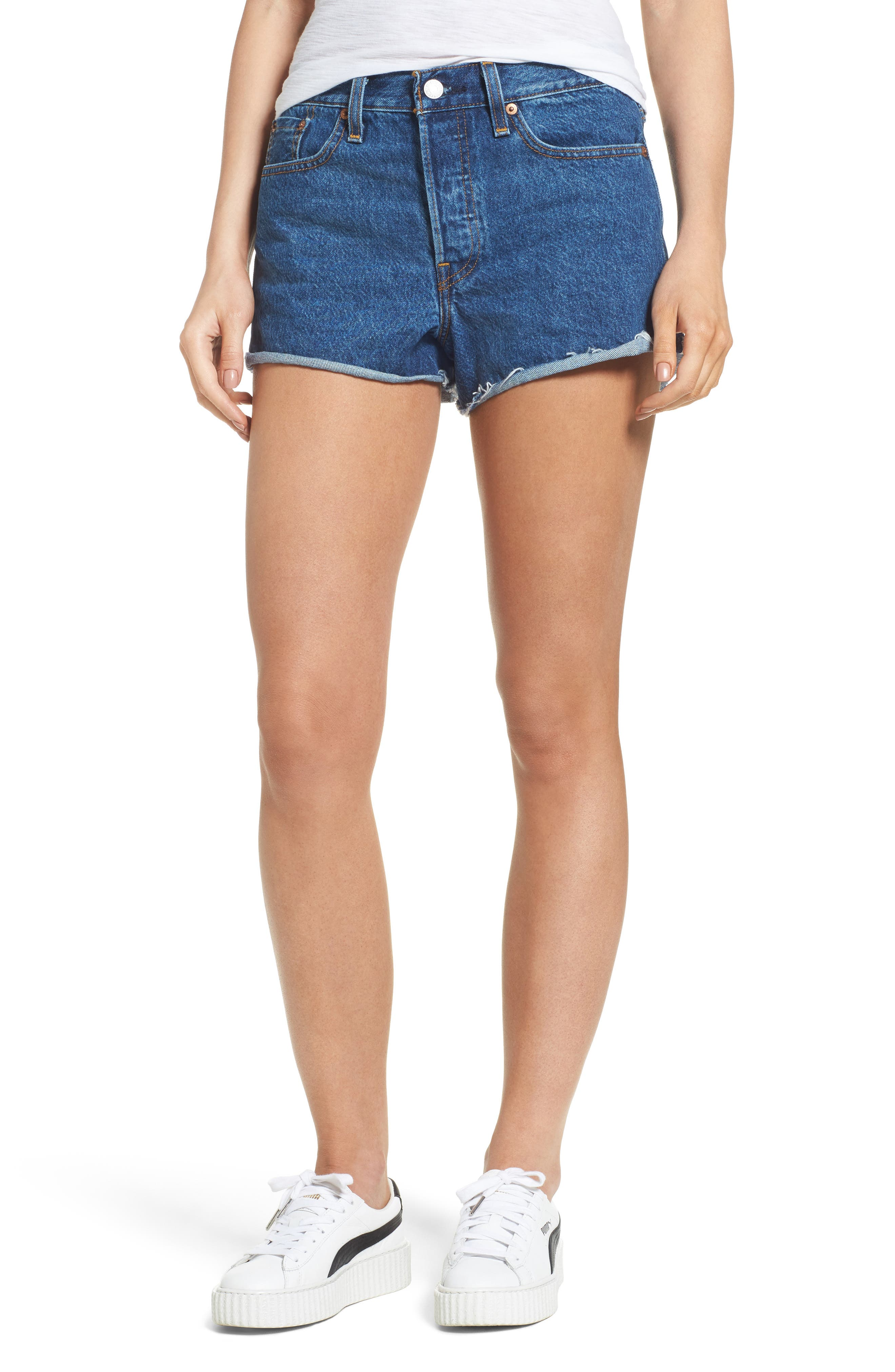 LEVIS<SUP>®</SUP> Cutoff Denim Shorts
