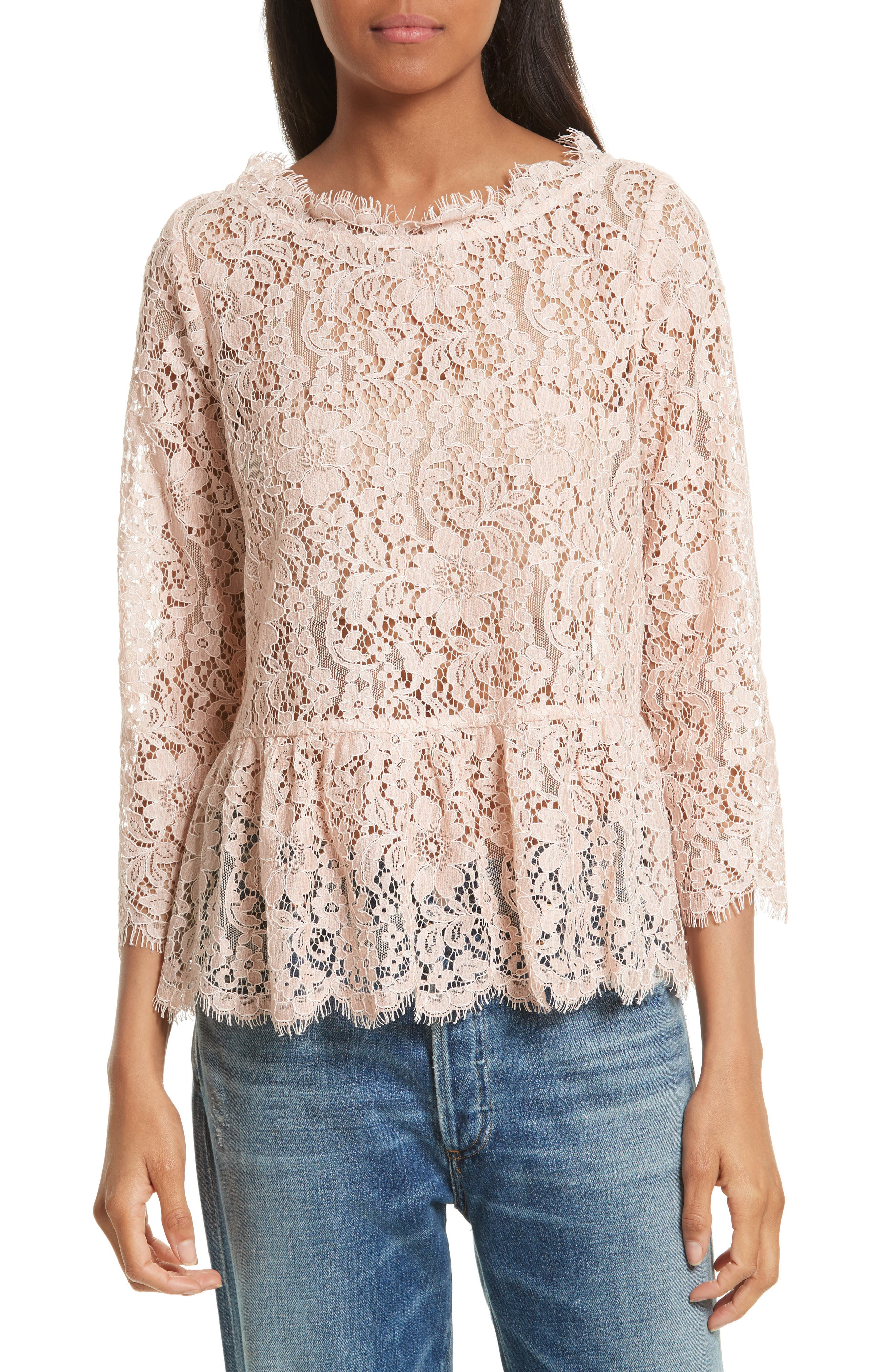 Alternate Image 1 Selected - Joie Koda Lace Top