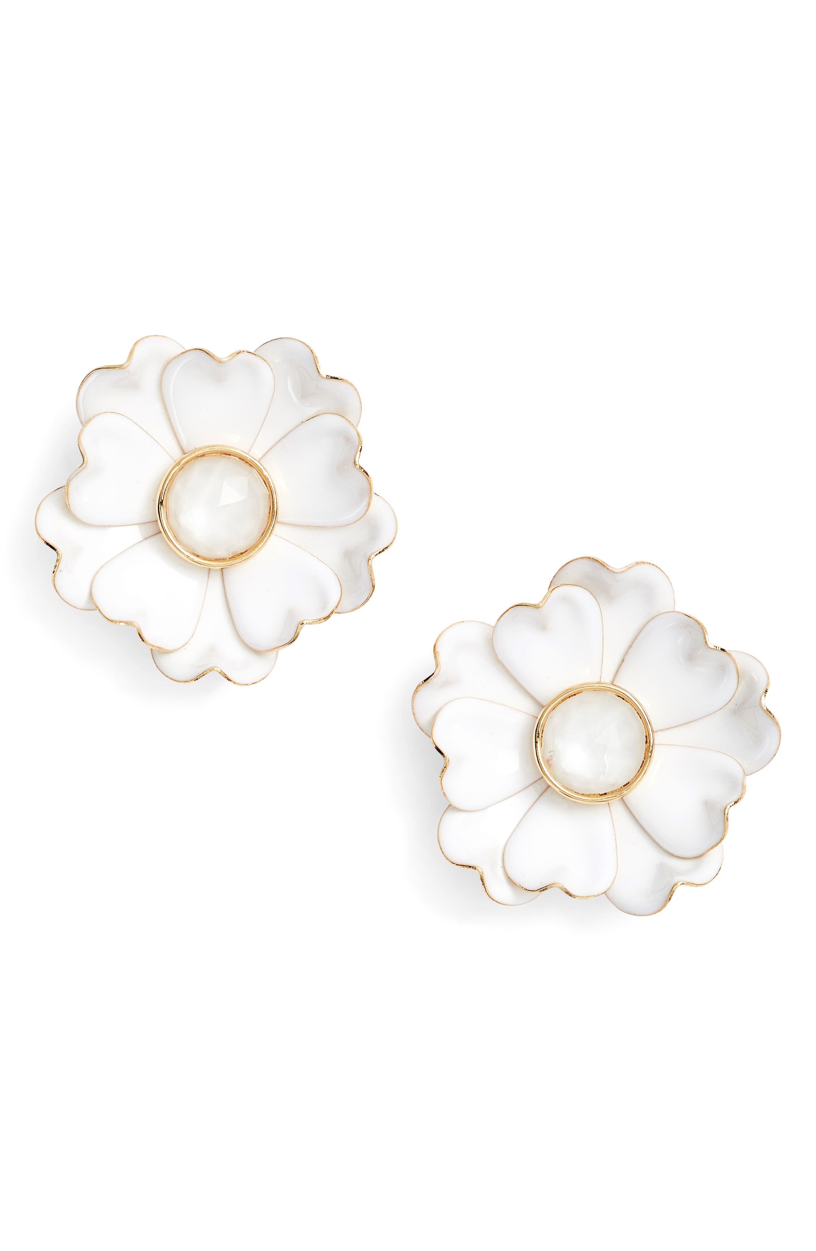 KATE SPADE NEW YORK bright blossom earrings