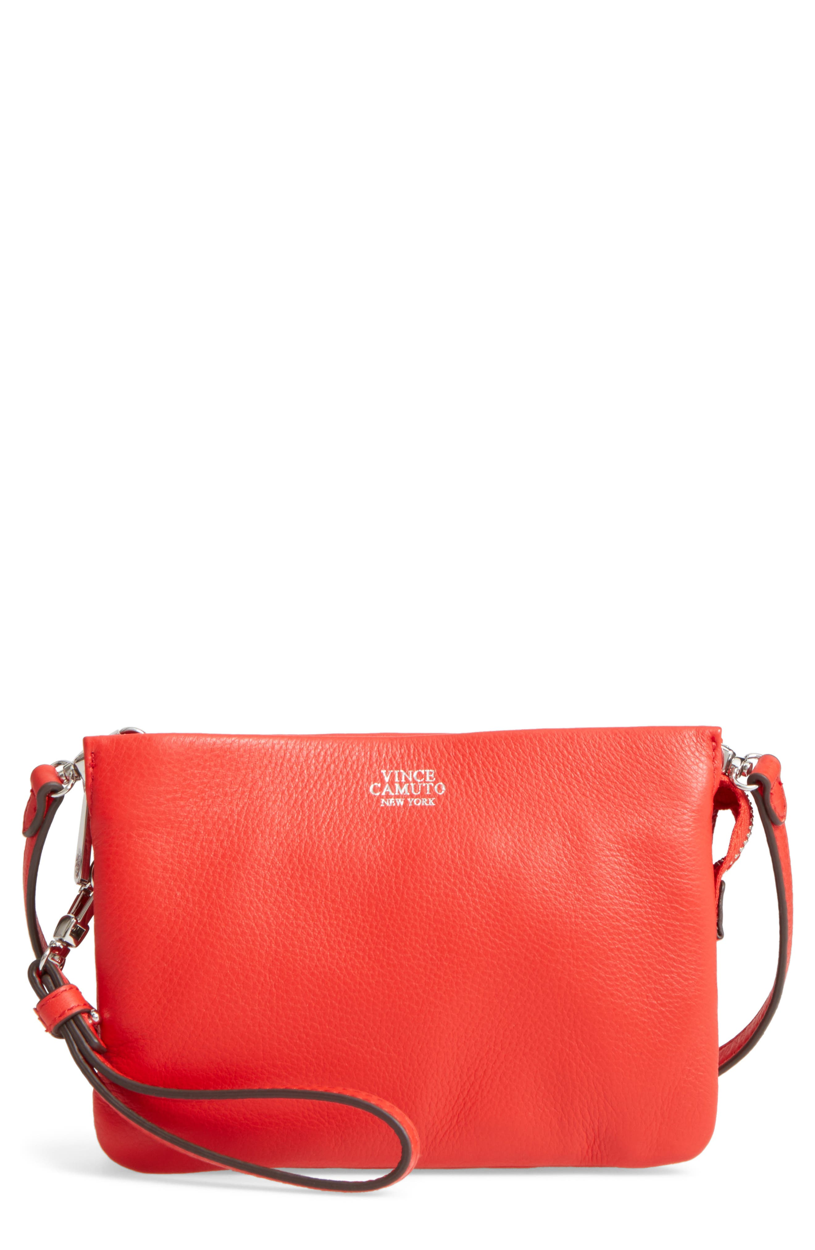 Vince Camuto 'Cami' Leather Crossbody Bag