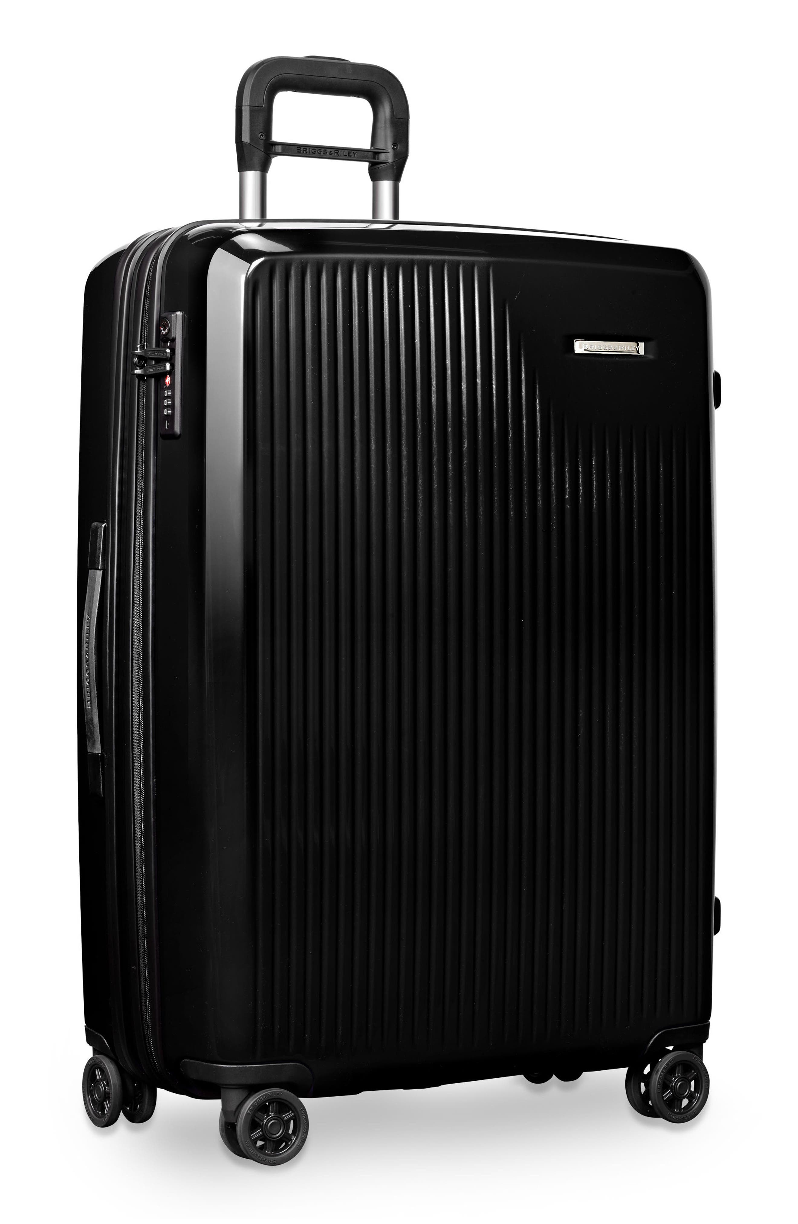 Sympatico 30-Inch Expandable Wheeled Packing Case,                             Alternate thumbnail 4, color,                             Onyx