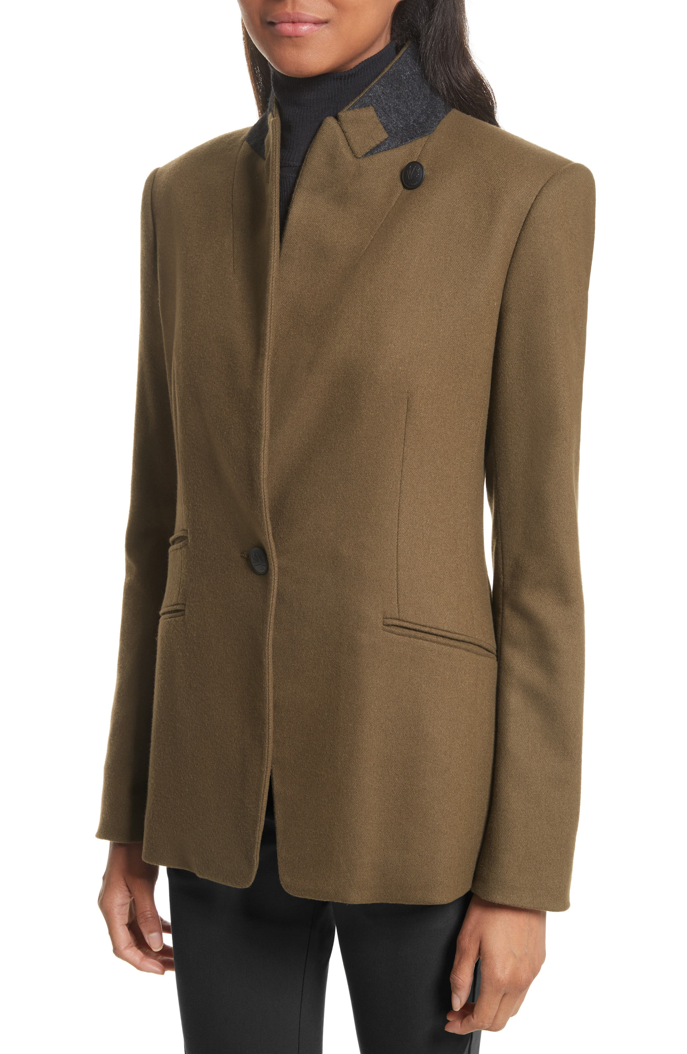 Alternate Image 5  - rag & bone Duke Wool Blend Blazer