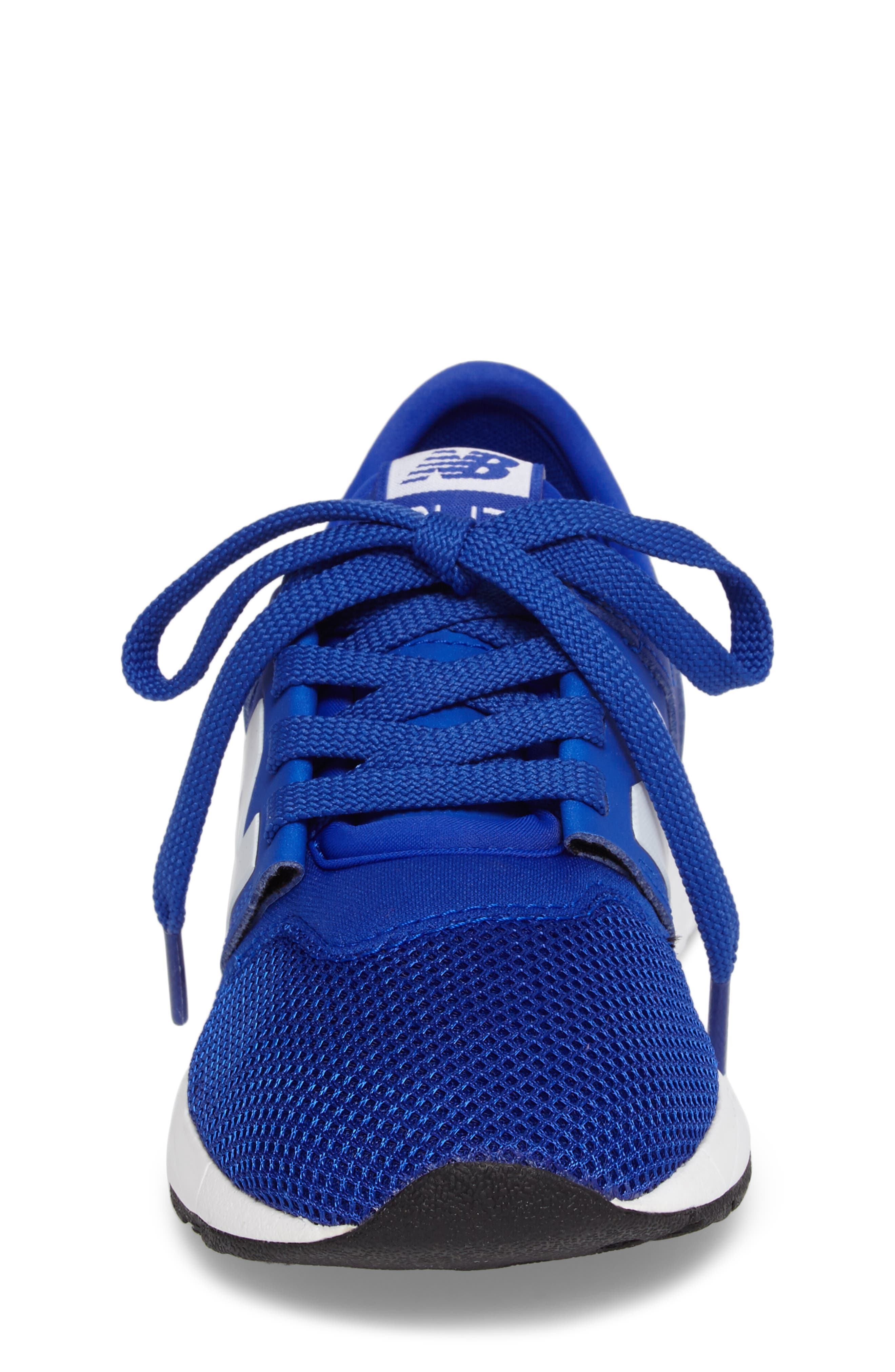 247 Core Sneaker,                             Alternate thumbnail 4, color,                             Blue/ White