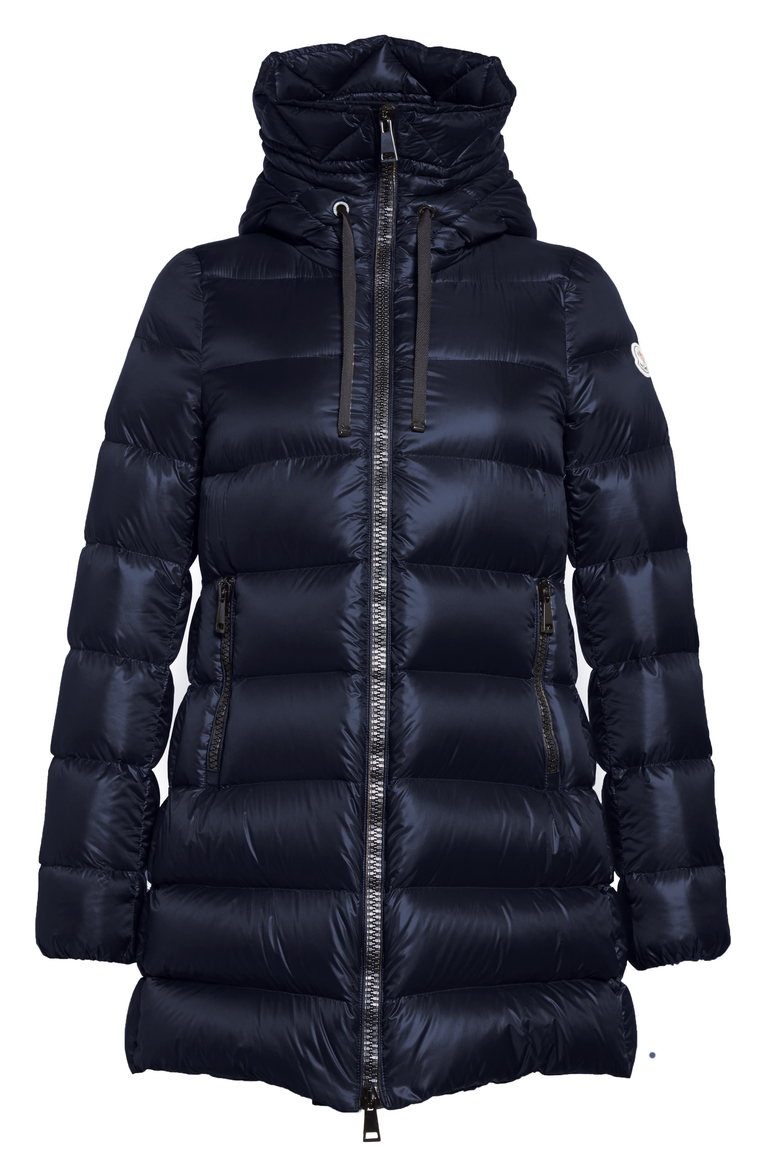 Alternate Image 4  - Moncler 'Suyen' Water Resistant Hooded Down Puffer Coat