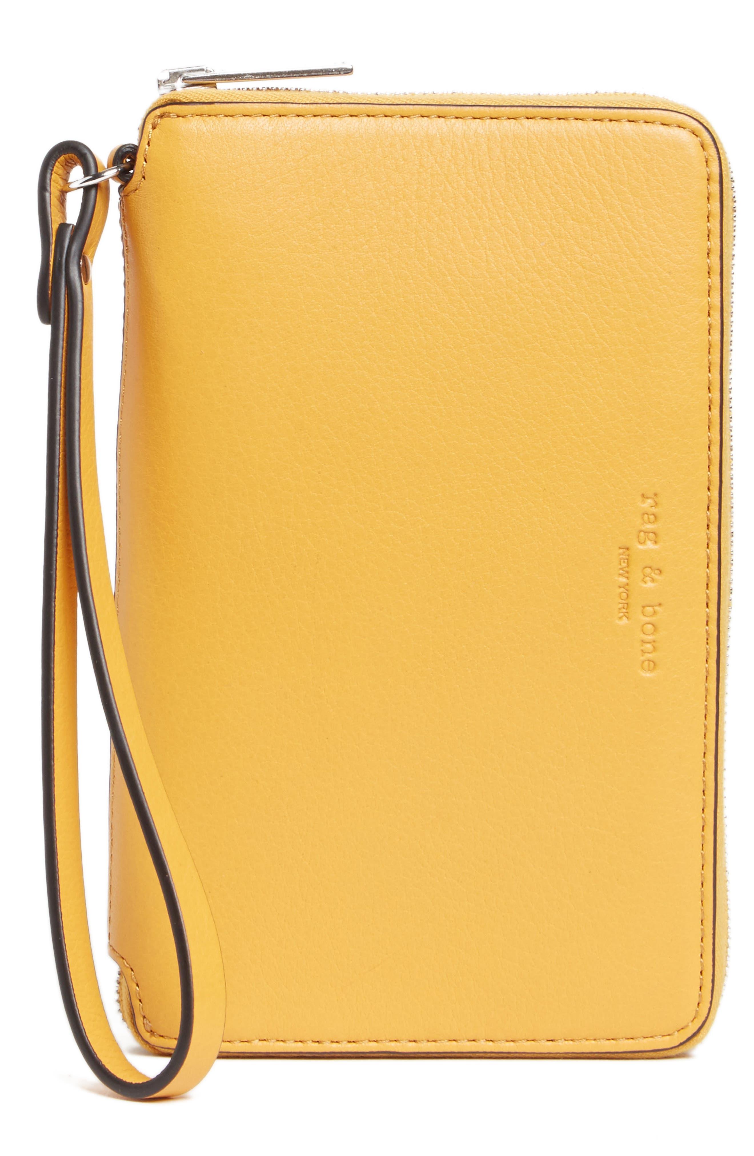 RAG & BONE Devon Leather Smartphone Wallet