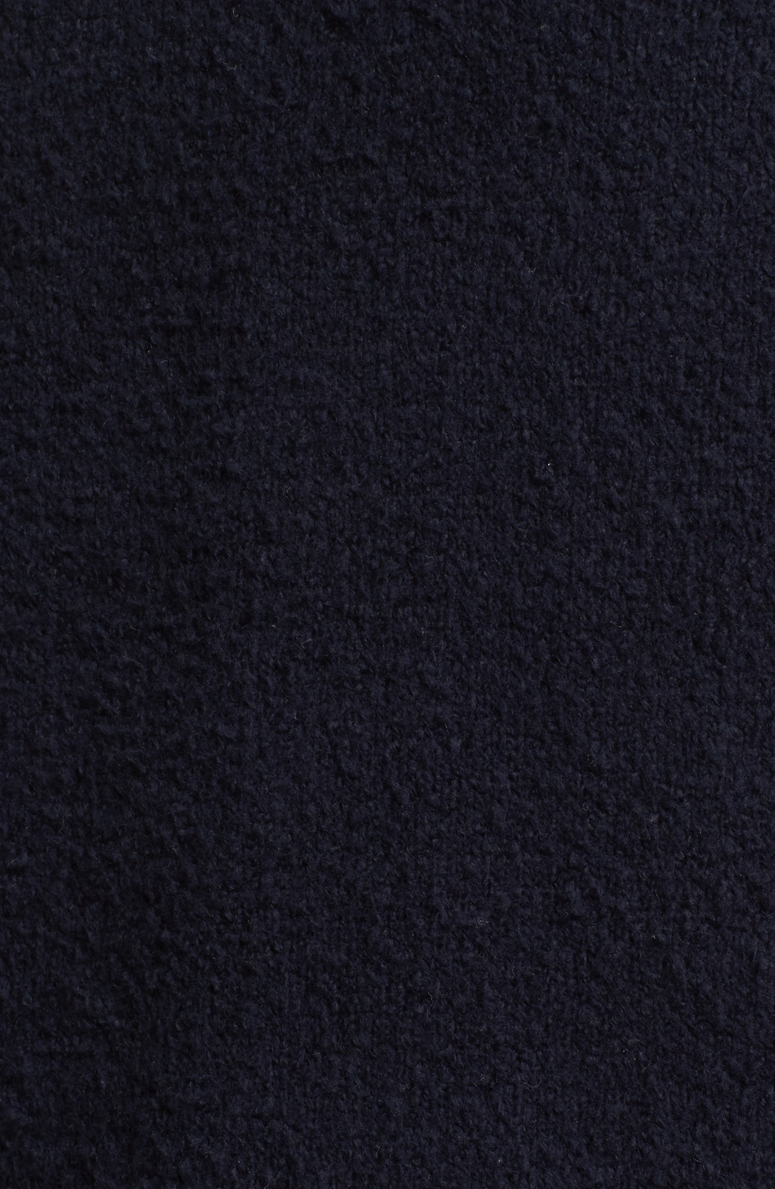 Plaited Sweater,                             Alternate thumbnail 5, color,                             Dark Navy
