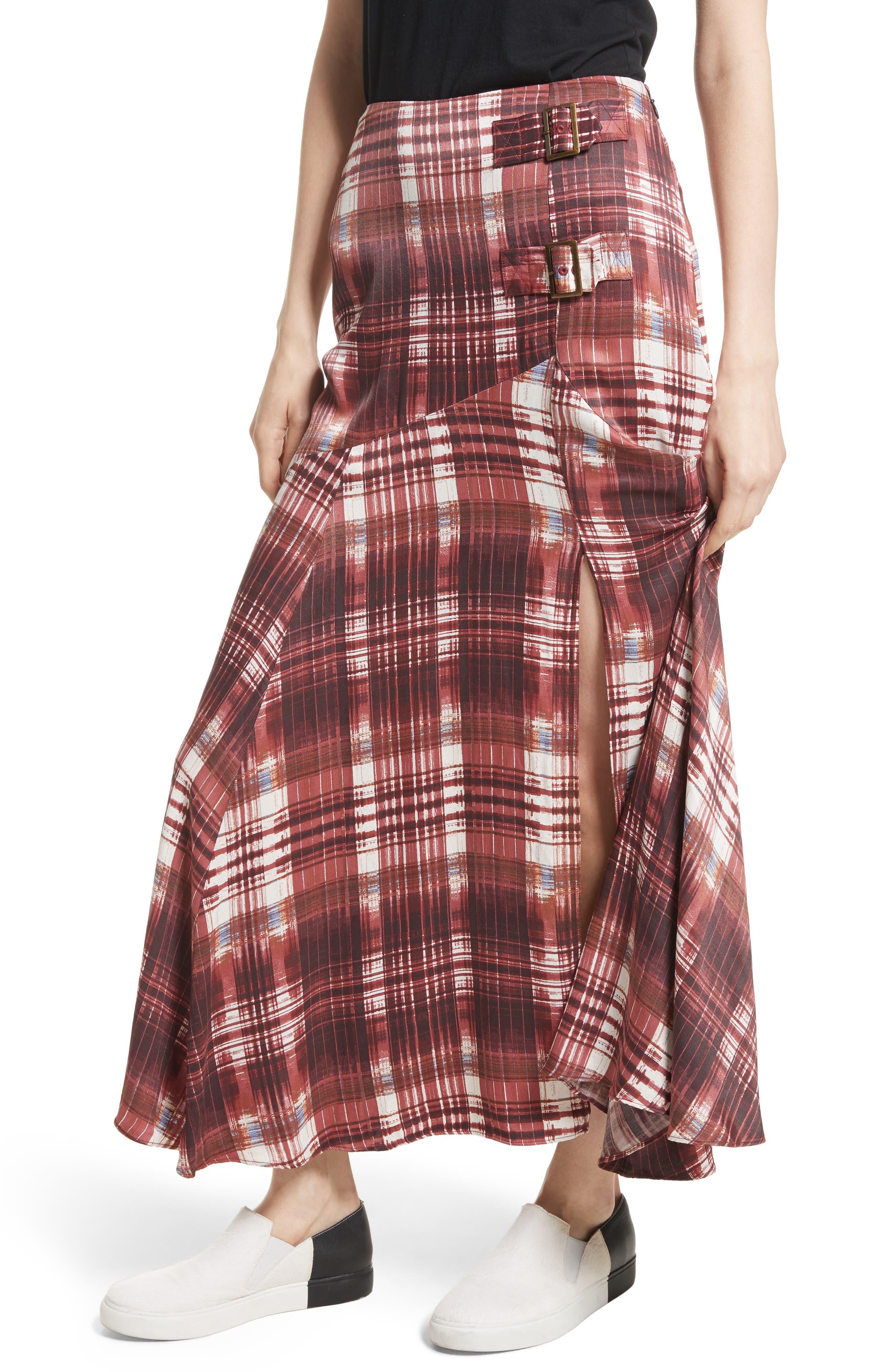 Alternate Image 1 Selected - Free People Season of the Wind Midi Skirt