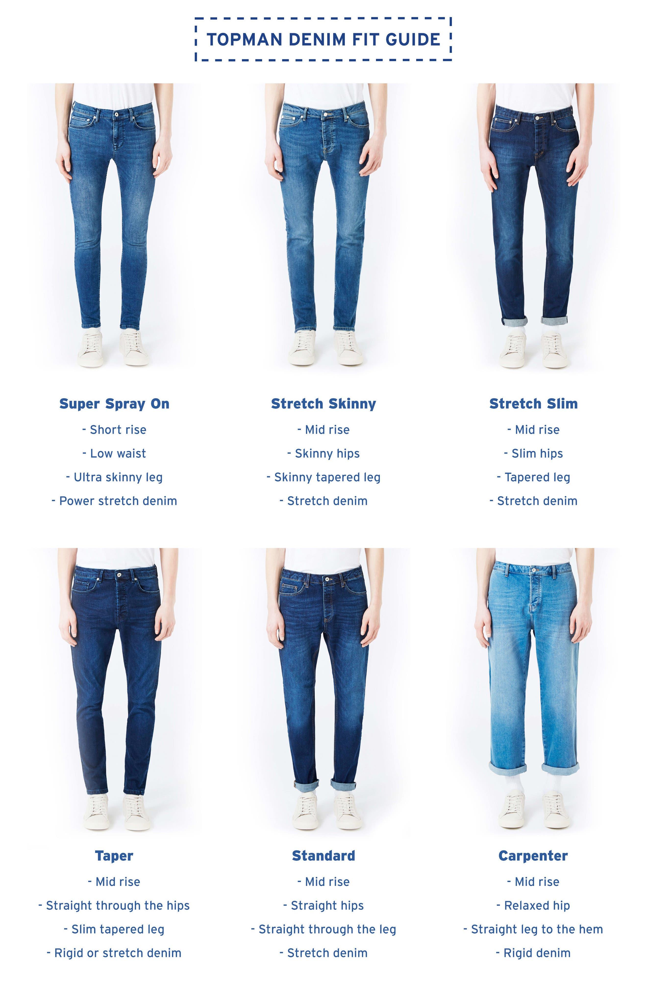 Alternate Image 5  - Topman Spray-On Skinny Fit Jeans