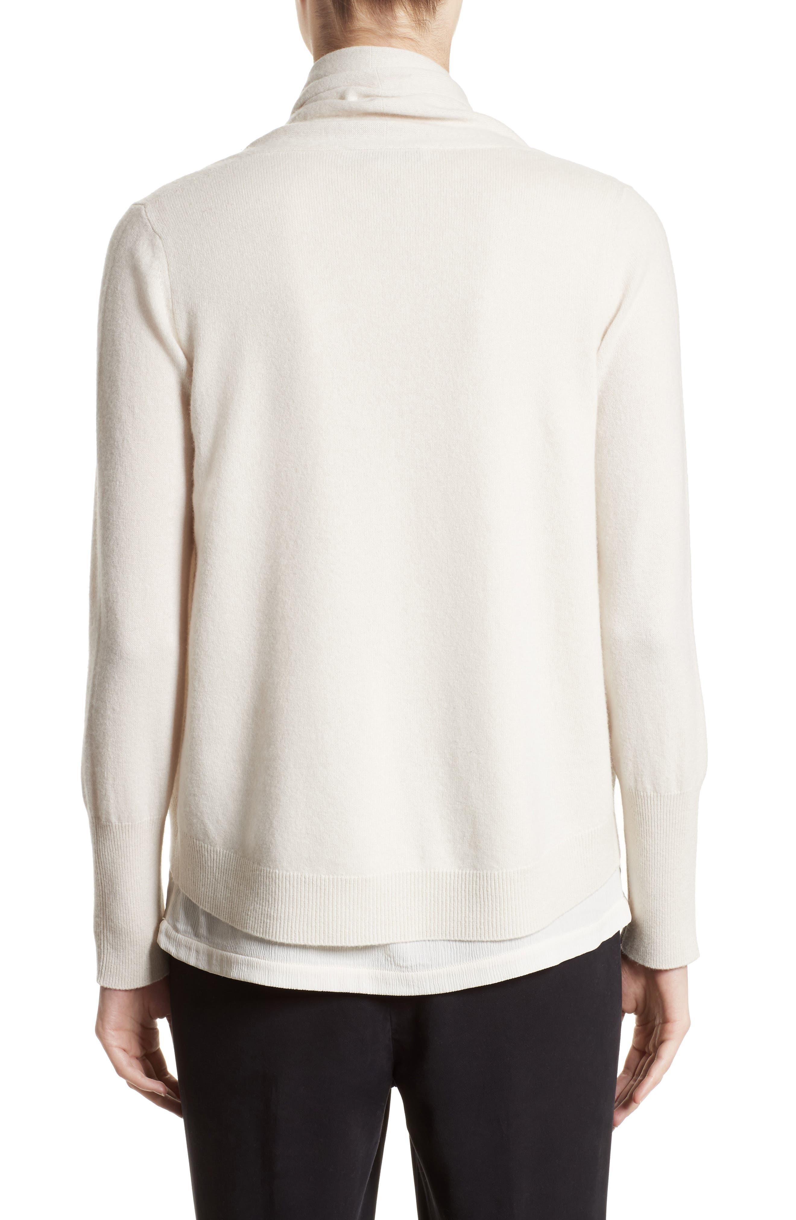 Alternate Image 2  - Fabiana Filippi Wool, Silk & Cashmere Shawl Collar Cardigan
