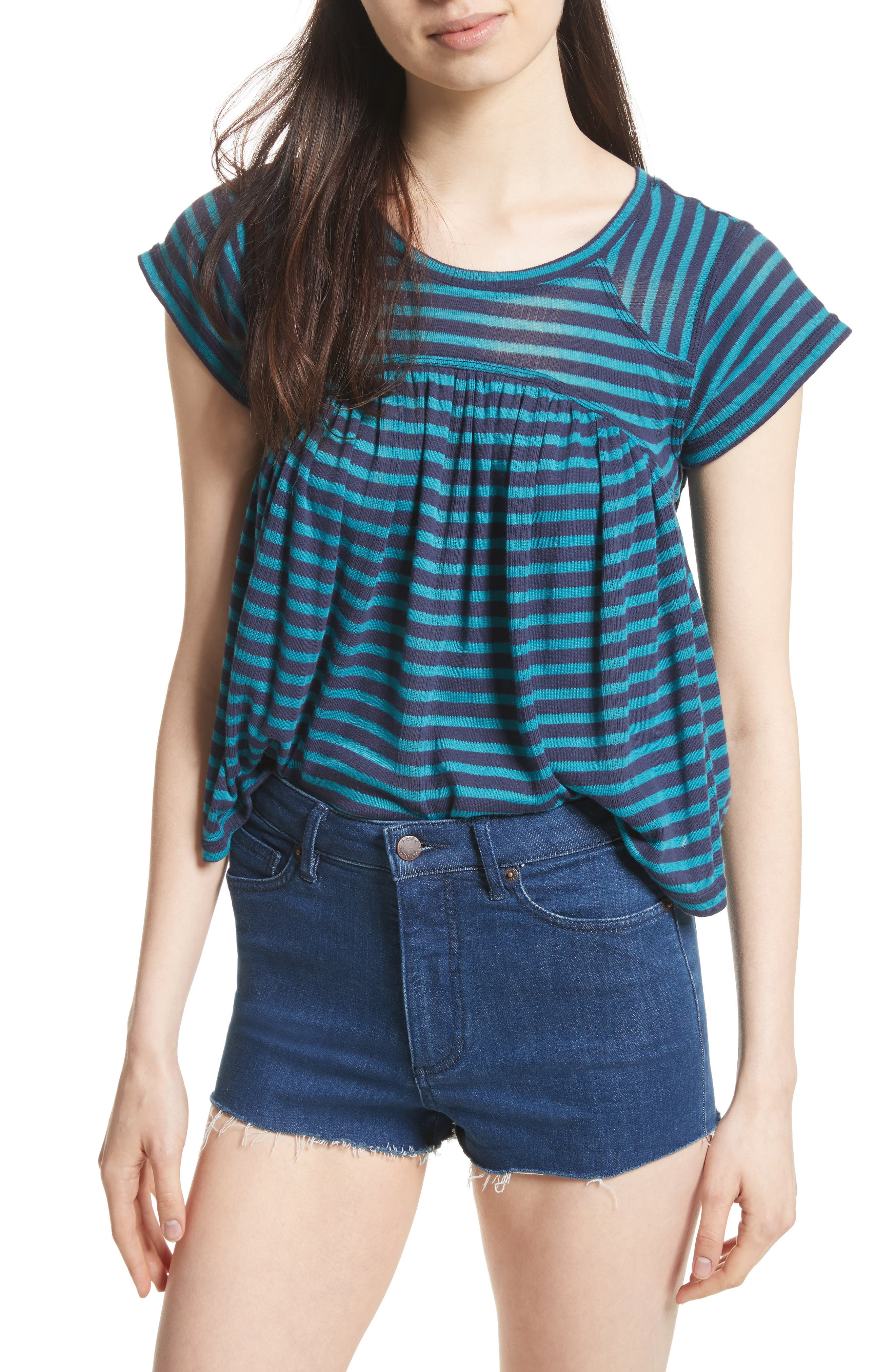 FREE PEOPLE Jojo Stripe Tee