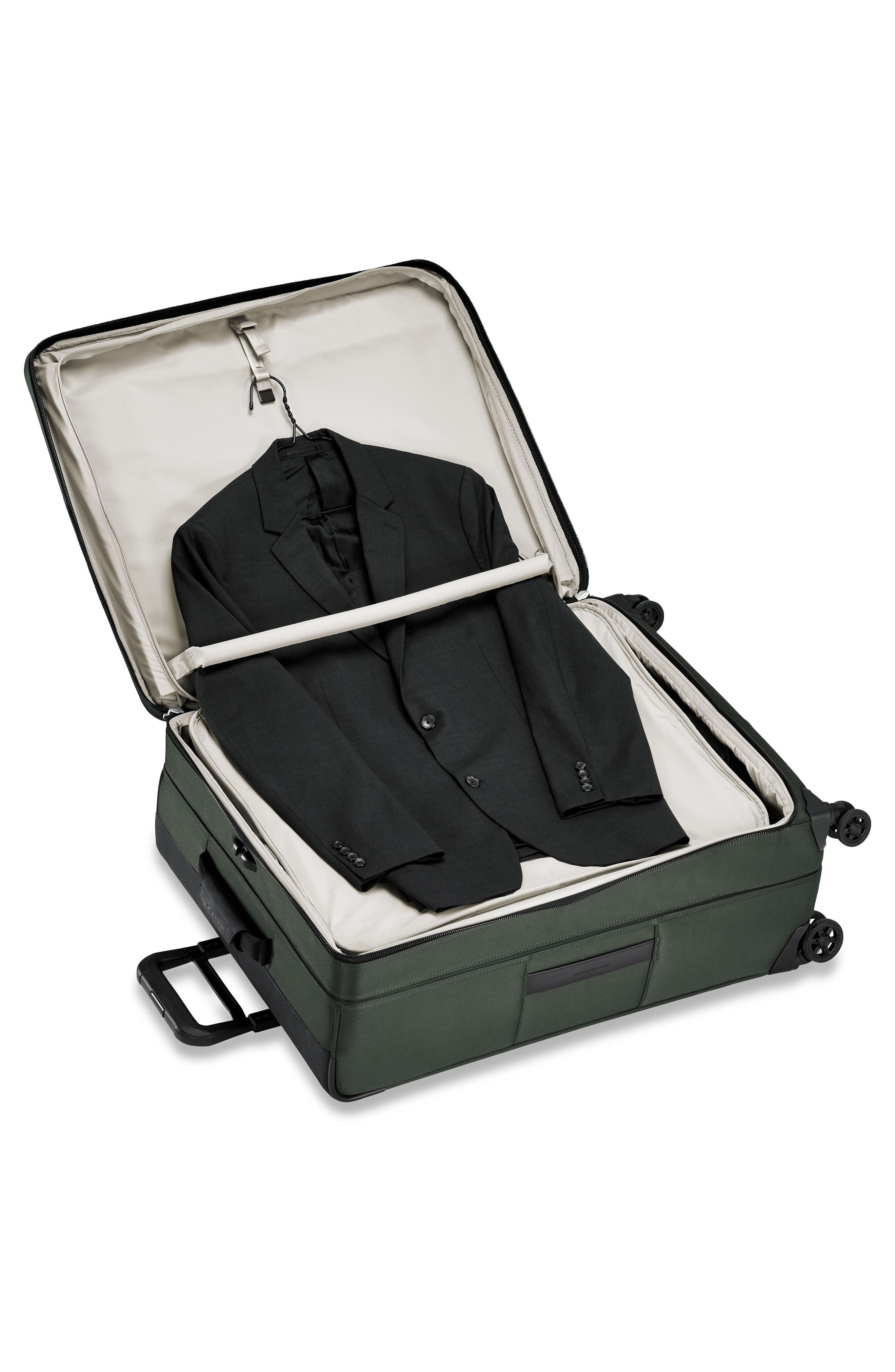 Transcend VX Large Expandable 29-Inch Spinner Suitcase,                             Alternate thumbnail 2, color,                             Rainforest Green