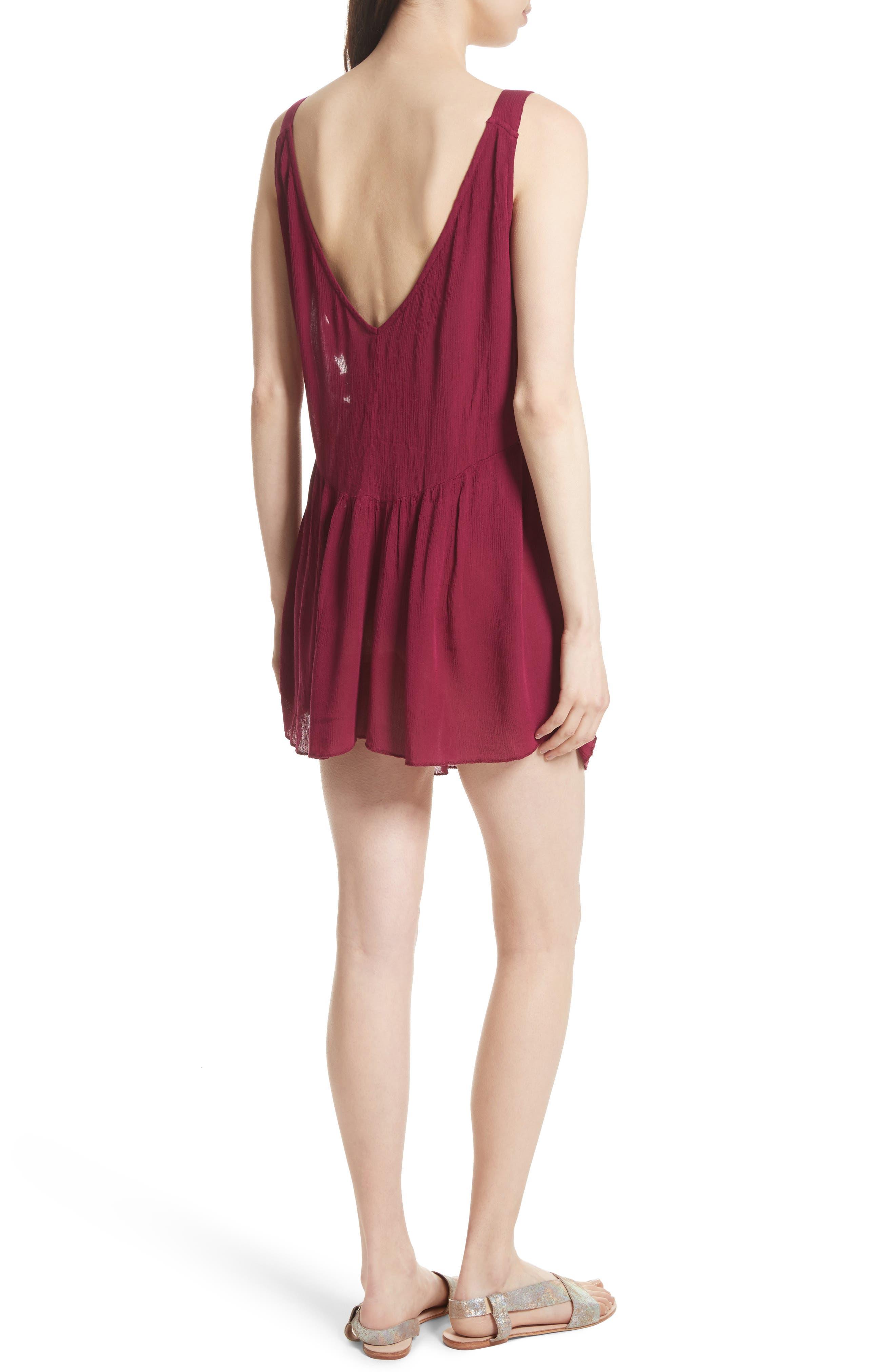 Alternate Image 2  - Free People Delphine Embellished Slipdress