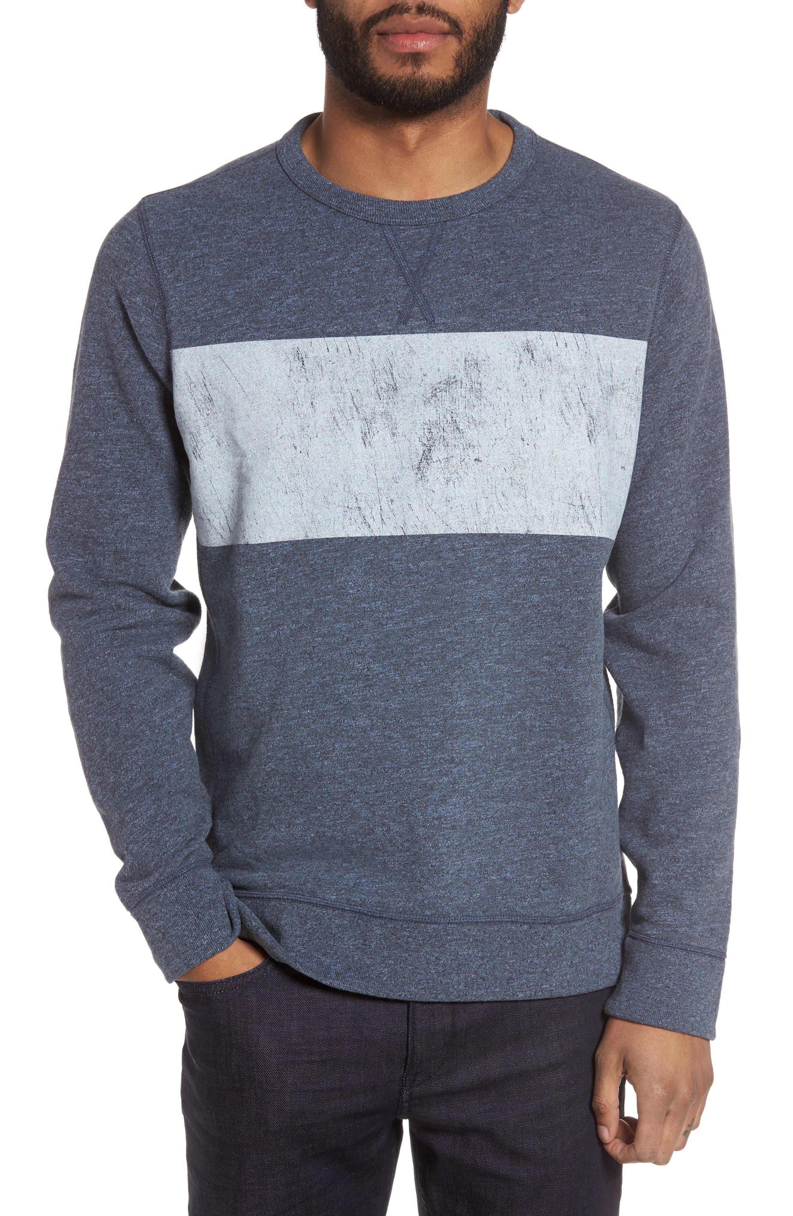Jason Scott Distressed Print Sweatshirt