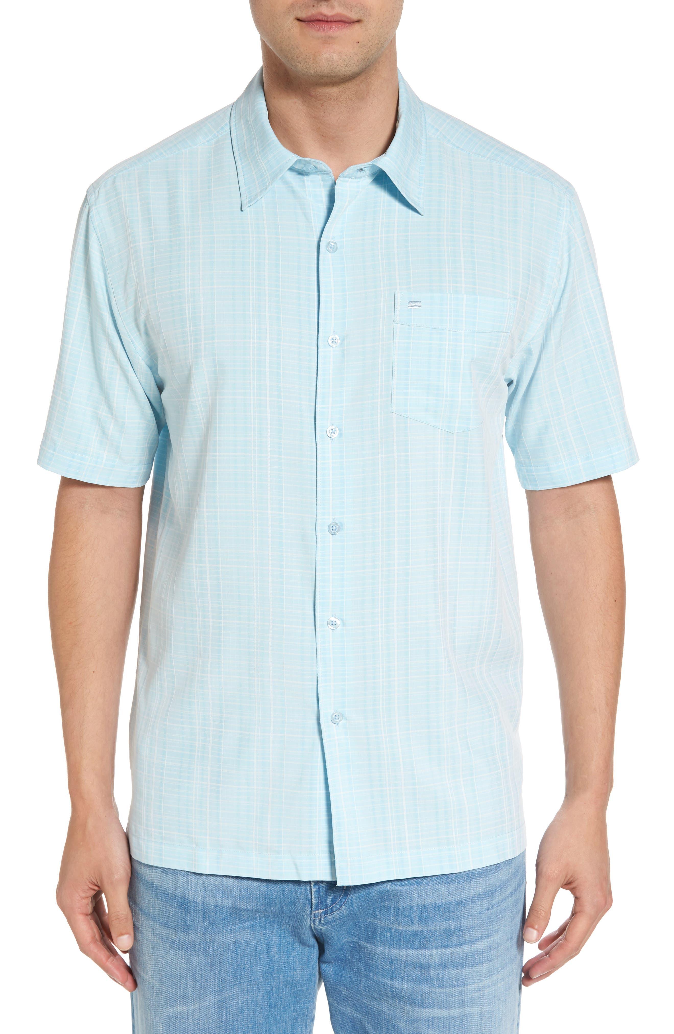 COVA BBQ 2 Regular Fit Plaid Dobby Sport Shirt