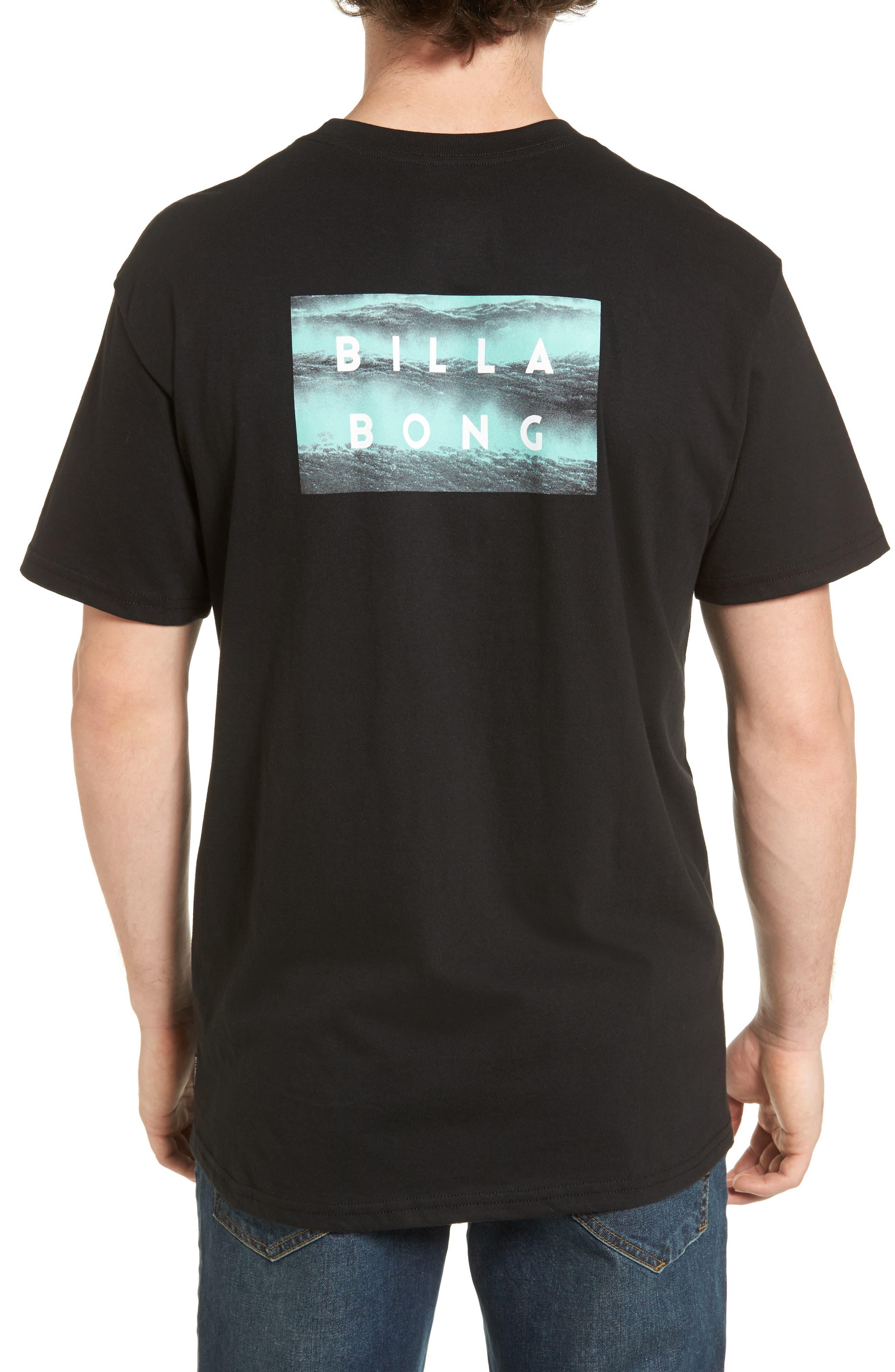 Fill Die Cut T-Shirt,                             Alternate thumbnail 2, color,                             Black