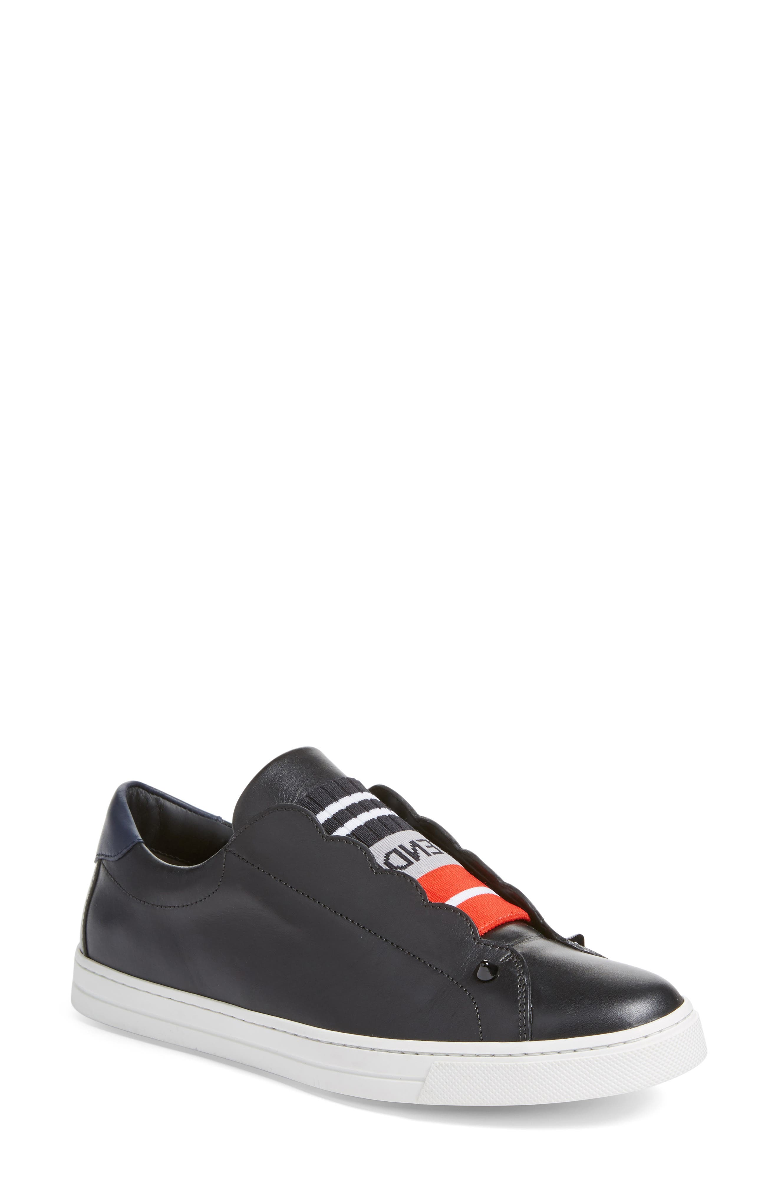 Fendi Rockoclick Slip-On Sneaker (Women)
