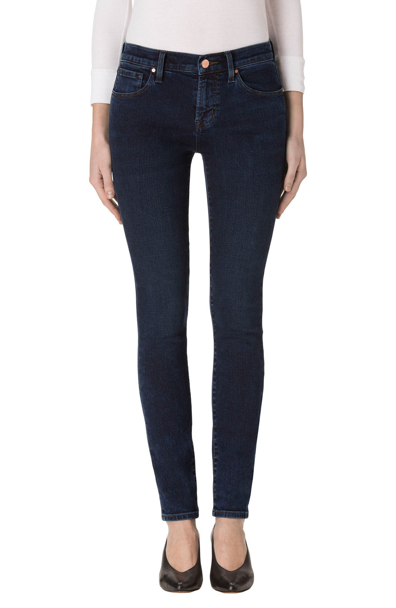Main Image - J Brand 620 Mid Rise Super Skinny Jeans (Decoy)