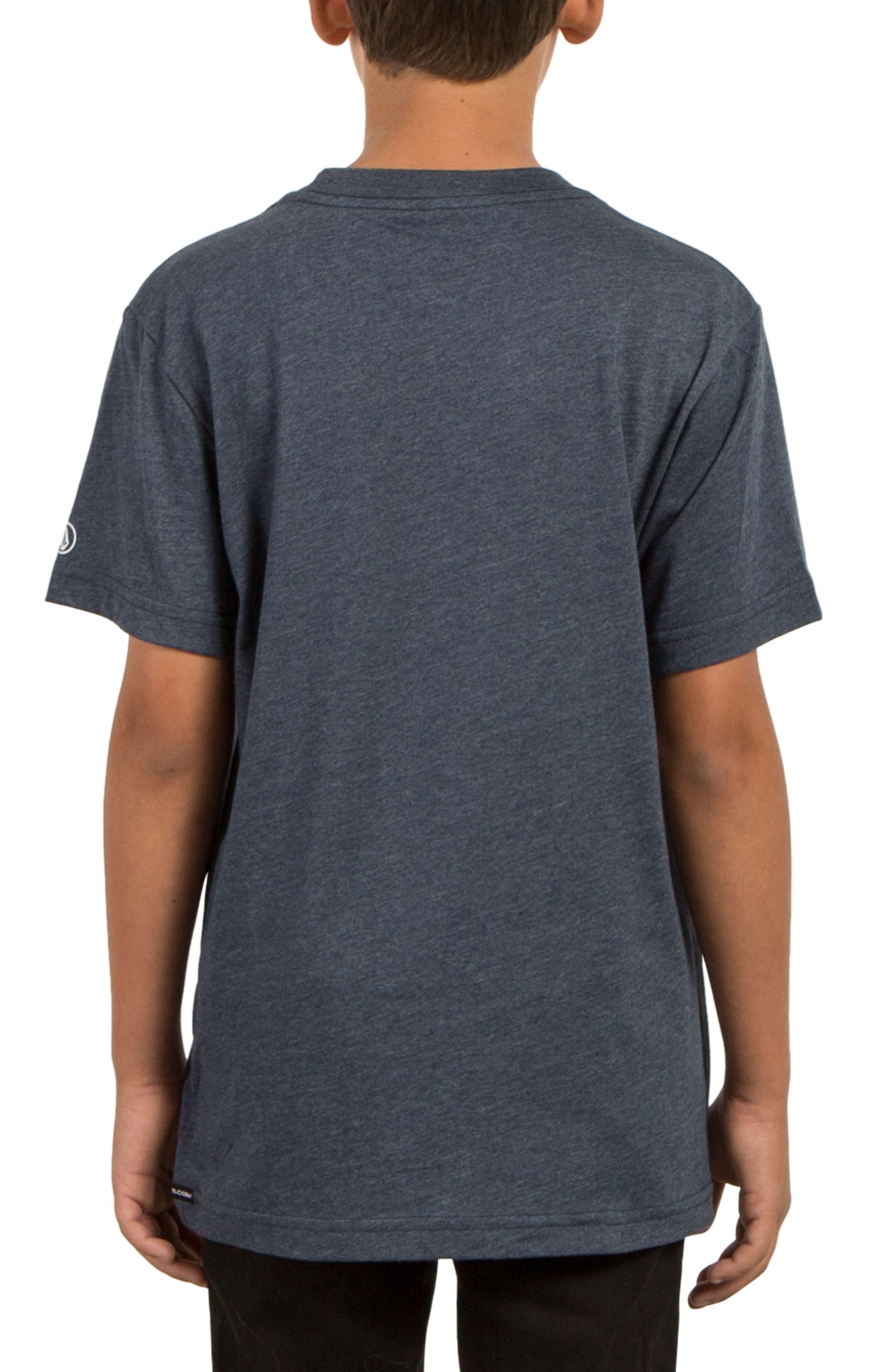 Twisted Pocket T-Shirt,                             Alternate thumbnail 2, color,                             Indigo