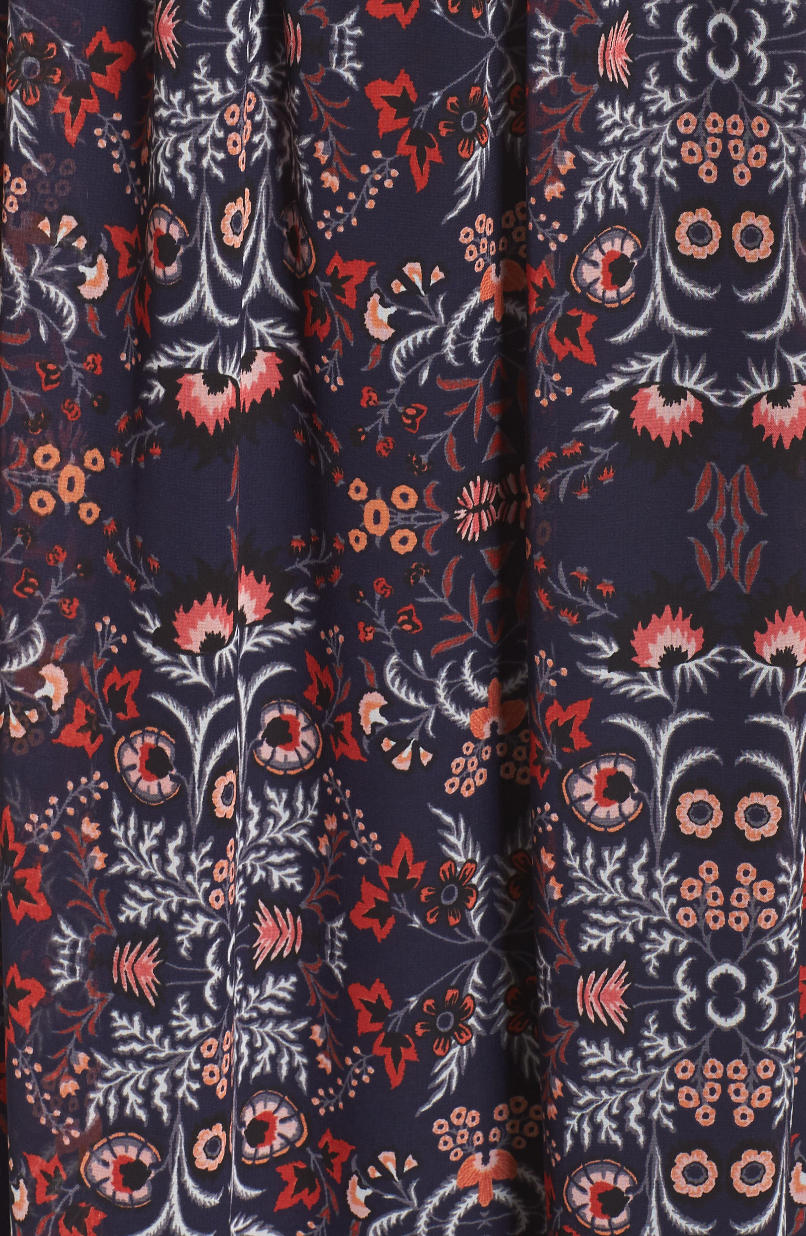Alternate Image 5  - Vince Camuto One-Shoulder Midi Dress