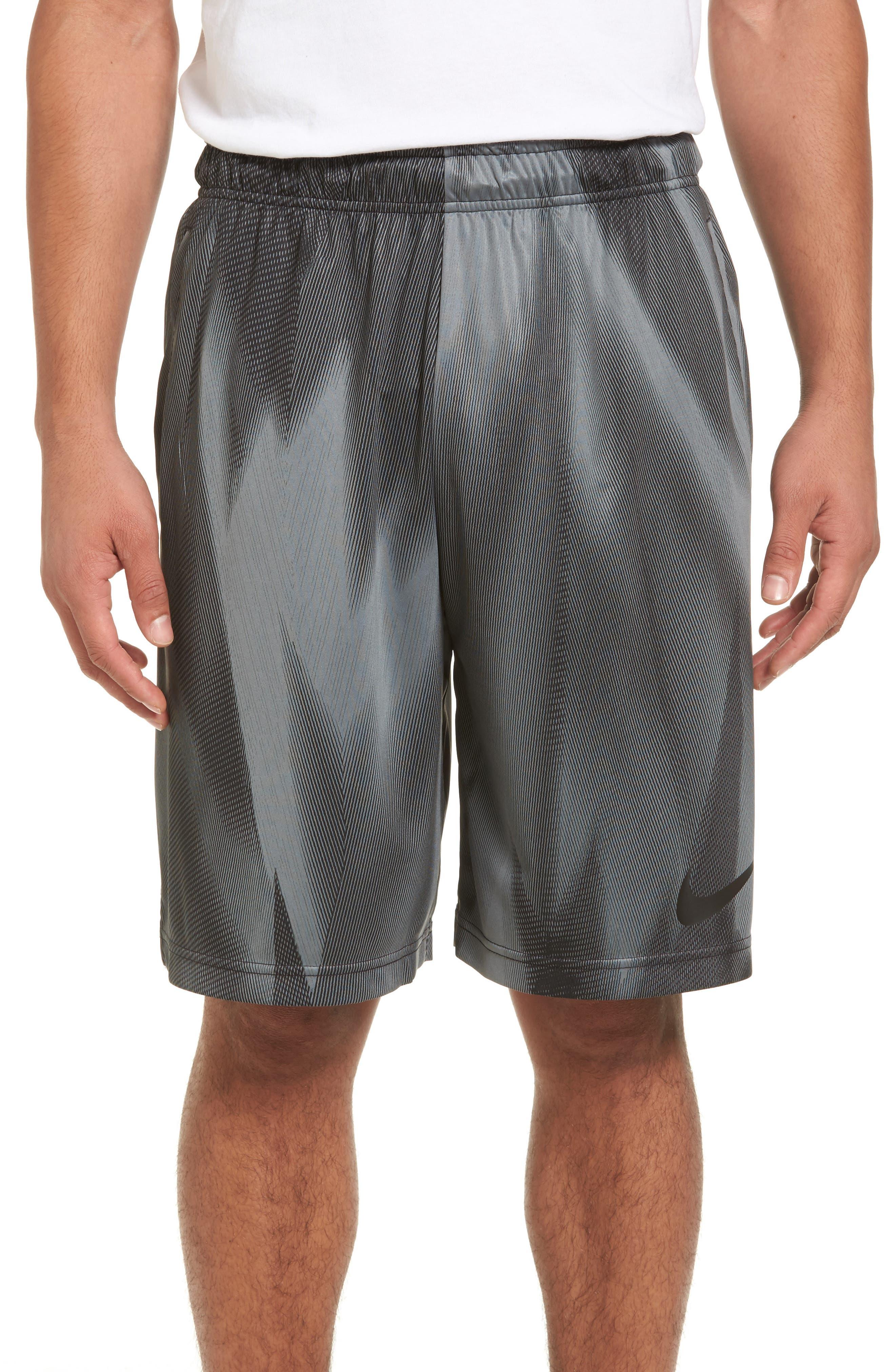 Dry Training Shorts,                             Main thumbnail 1, color,                             Black/ Black