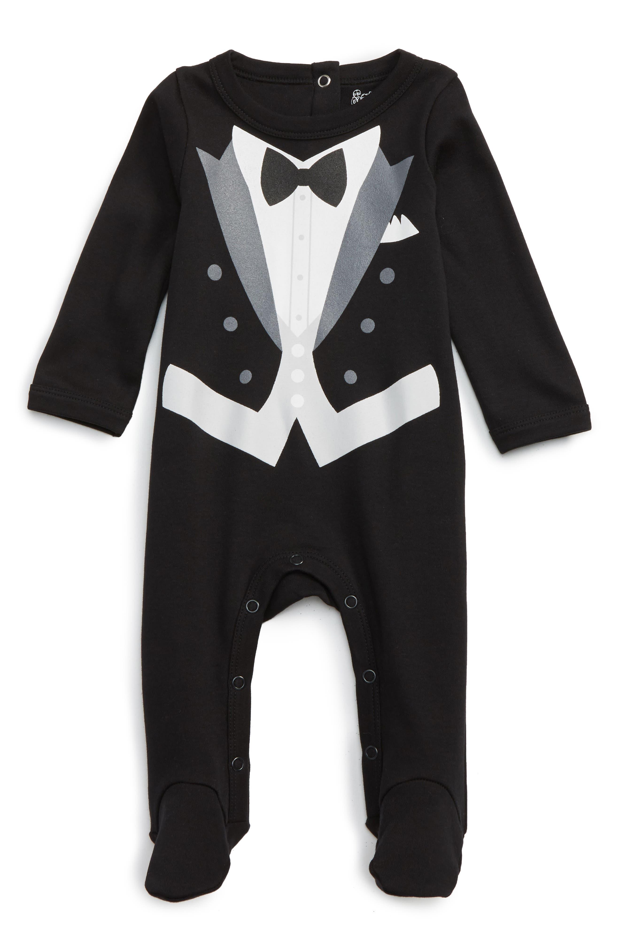Tux Footie,                         Main,                         color, Black