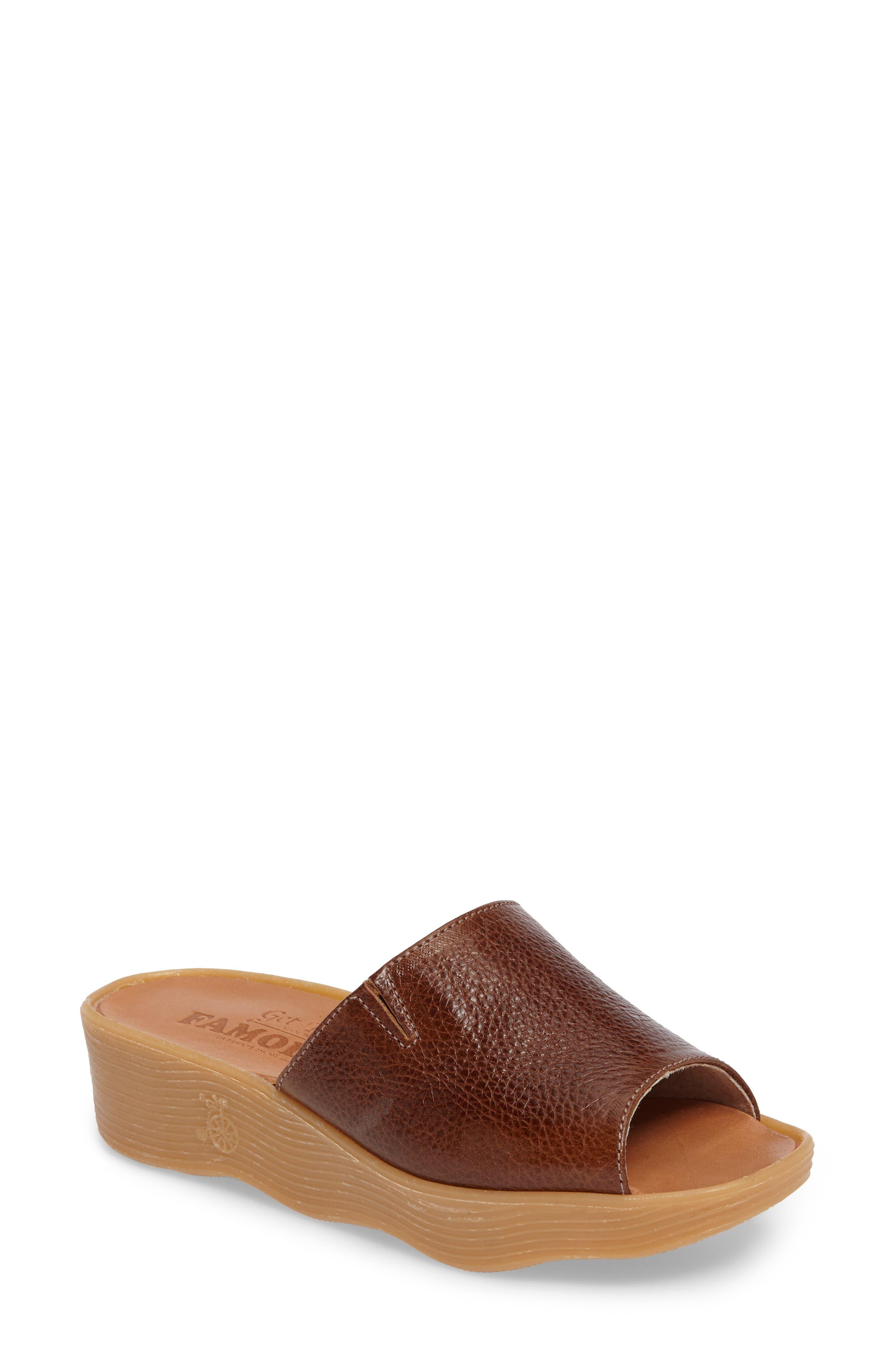 Famolare Slide N Sleek Wedge Slide Sandal (Women)