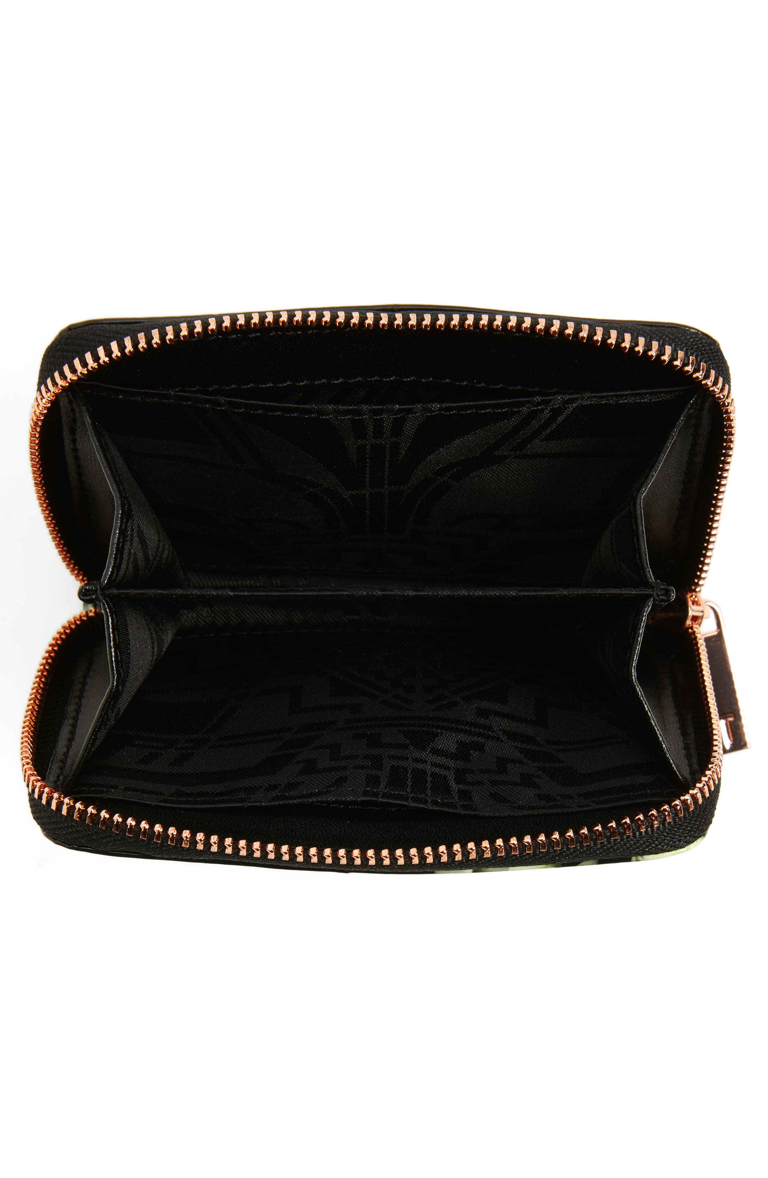 Alternate Image 3  - Ted Baker London Mayycie Kensington Floral Leather Mini Purse