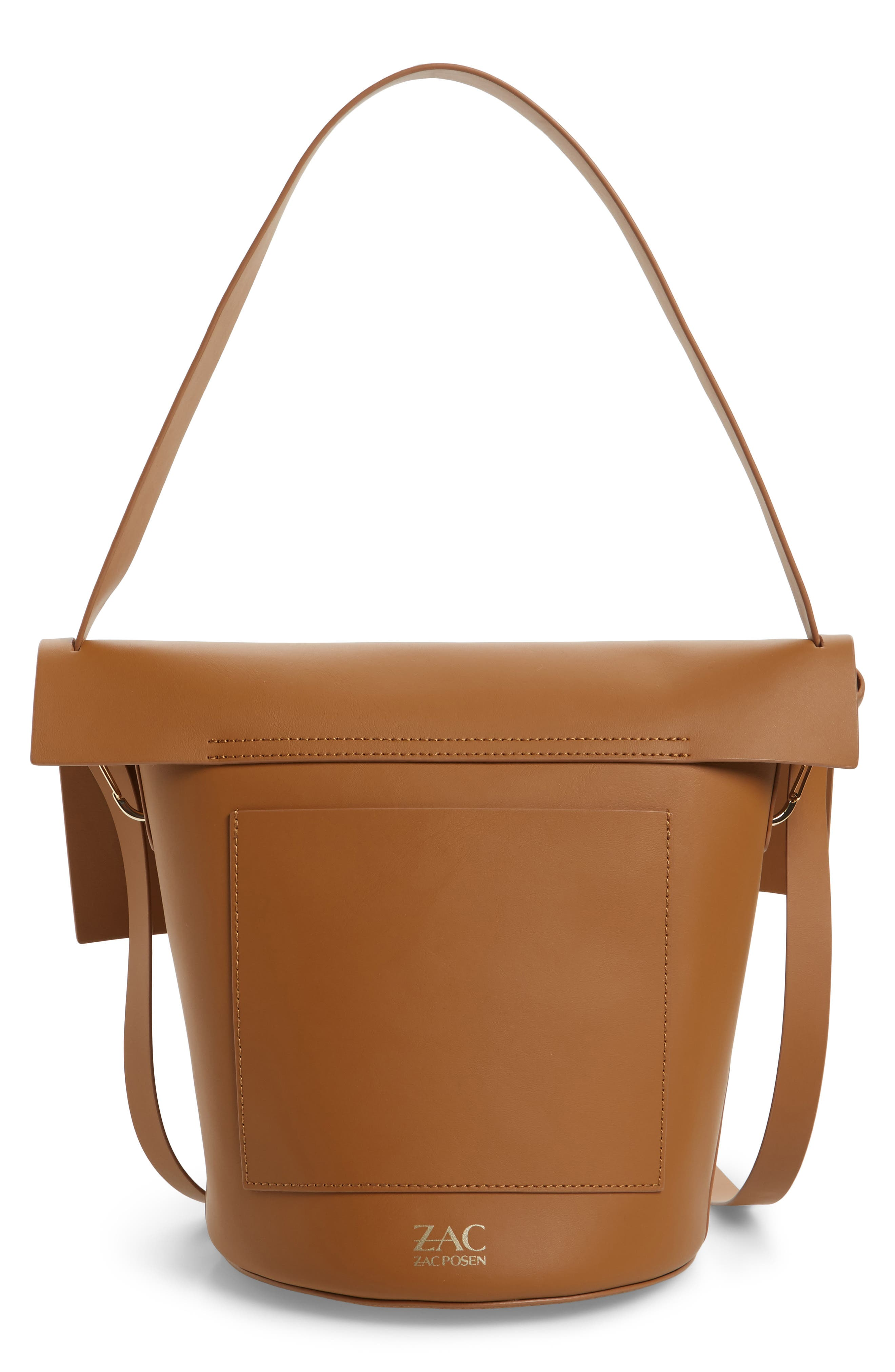 Belay Leather Bucket Bag,                             Alternate thumbnail 2, color,                             Camel