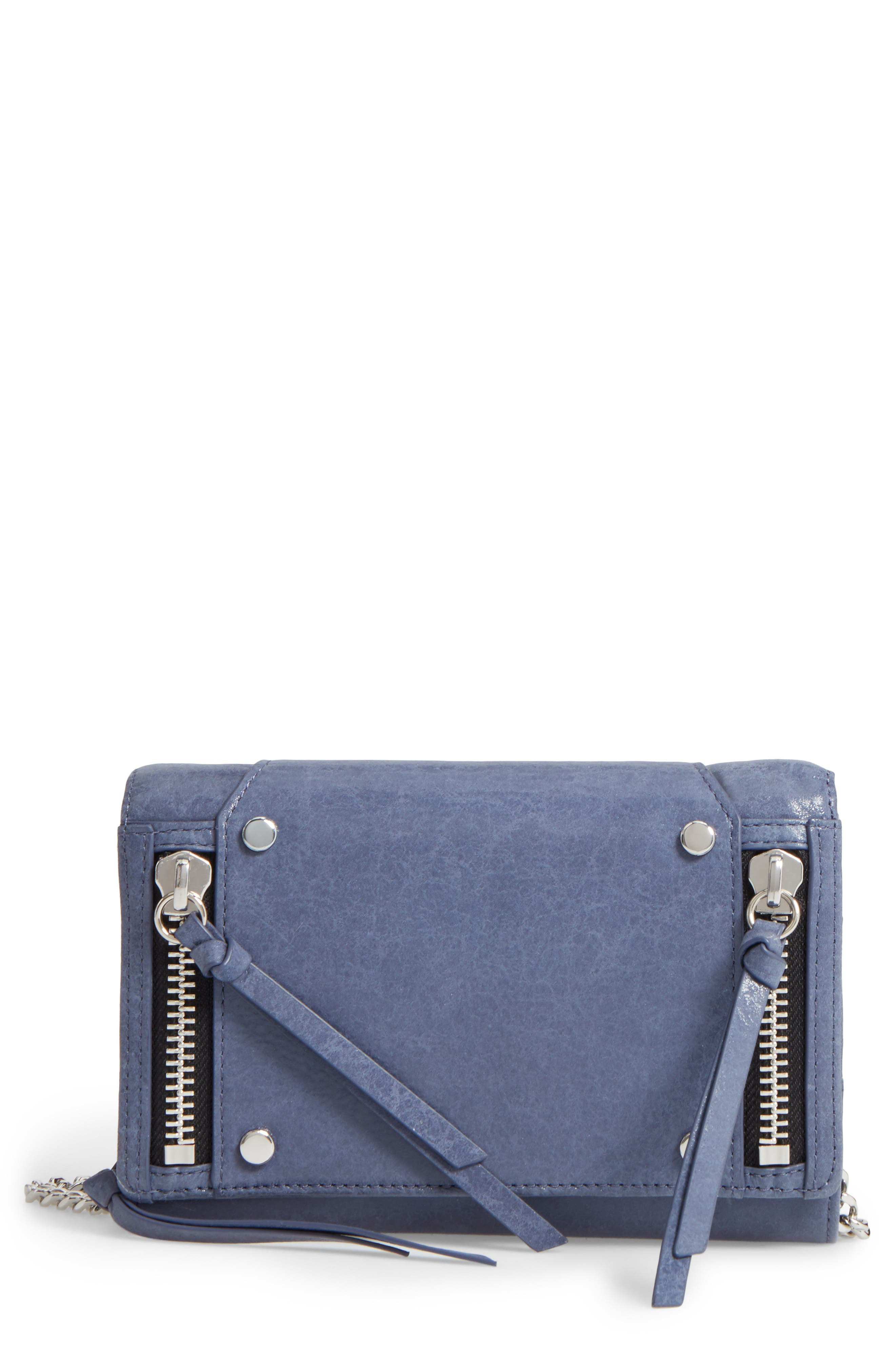 Main Image - Botkier Logan Leather Crossbody Wallet (Nordstrom Exclusive)