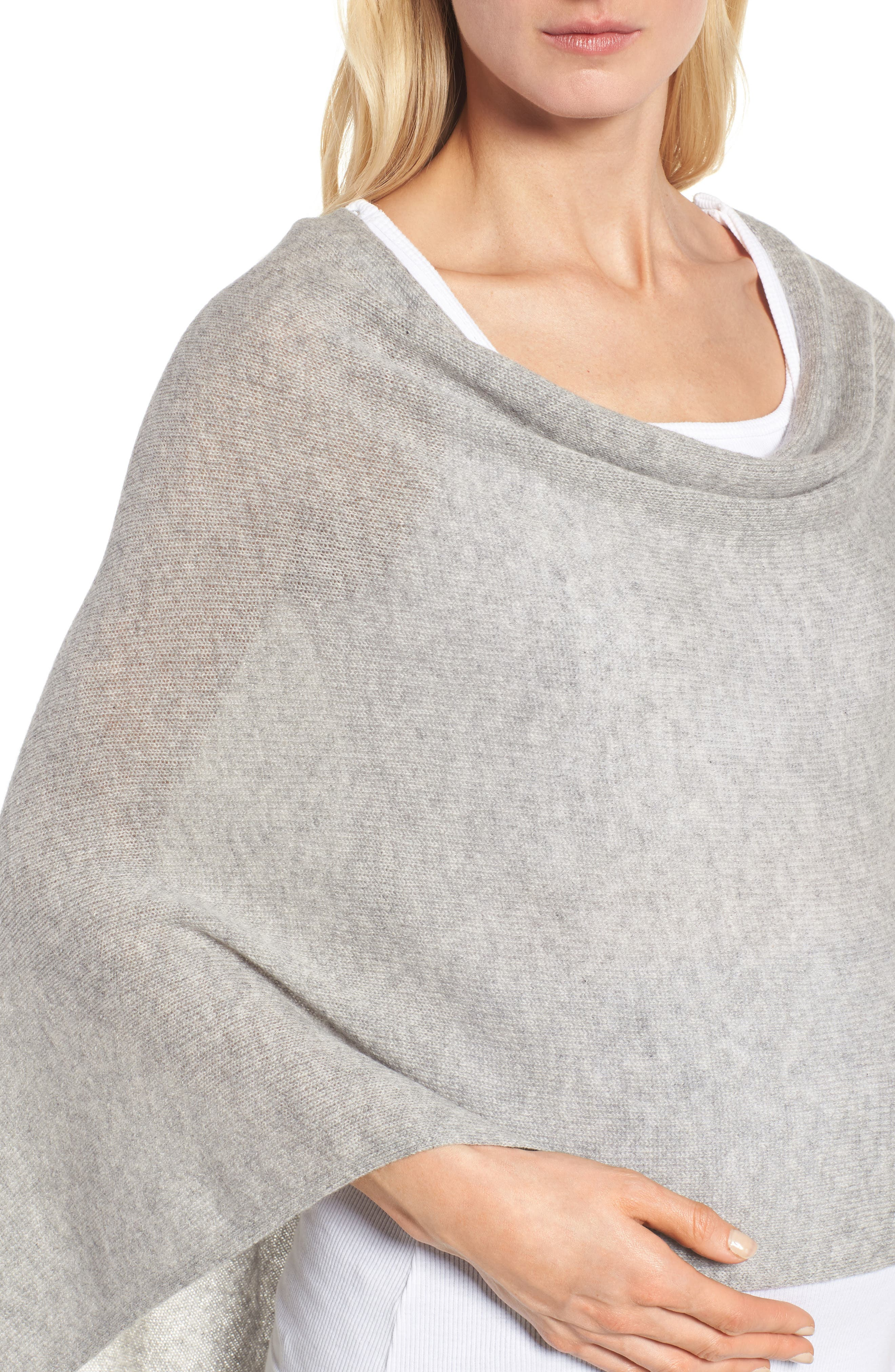 Alternate Image 4  - Tees by Tina Cashmere Maternity Cape