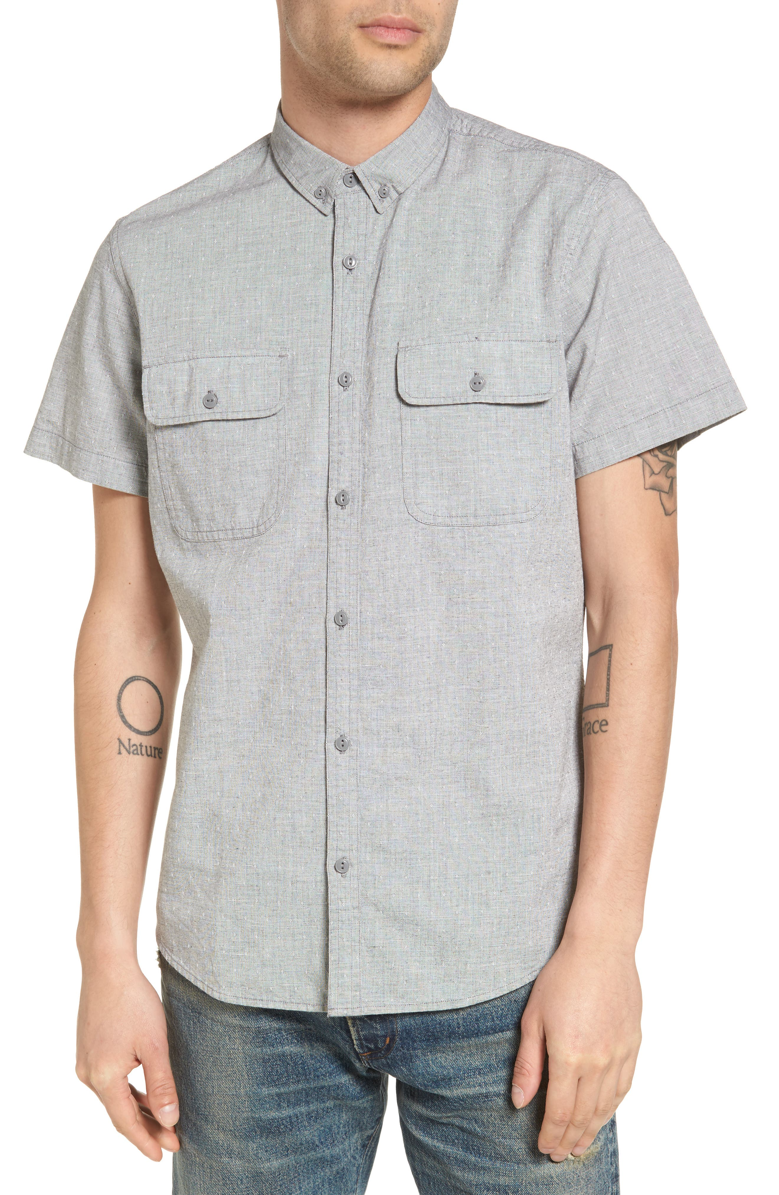 Main Image - Treasure & Bond Woven Shirt