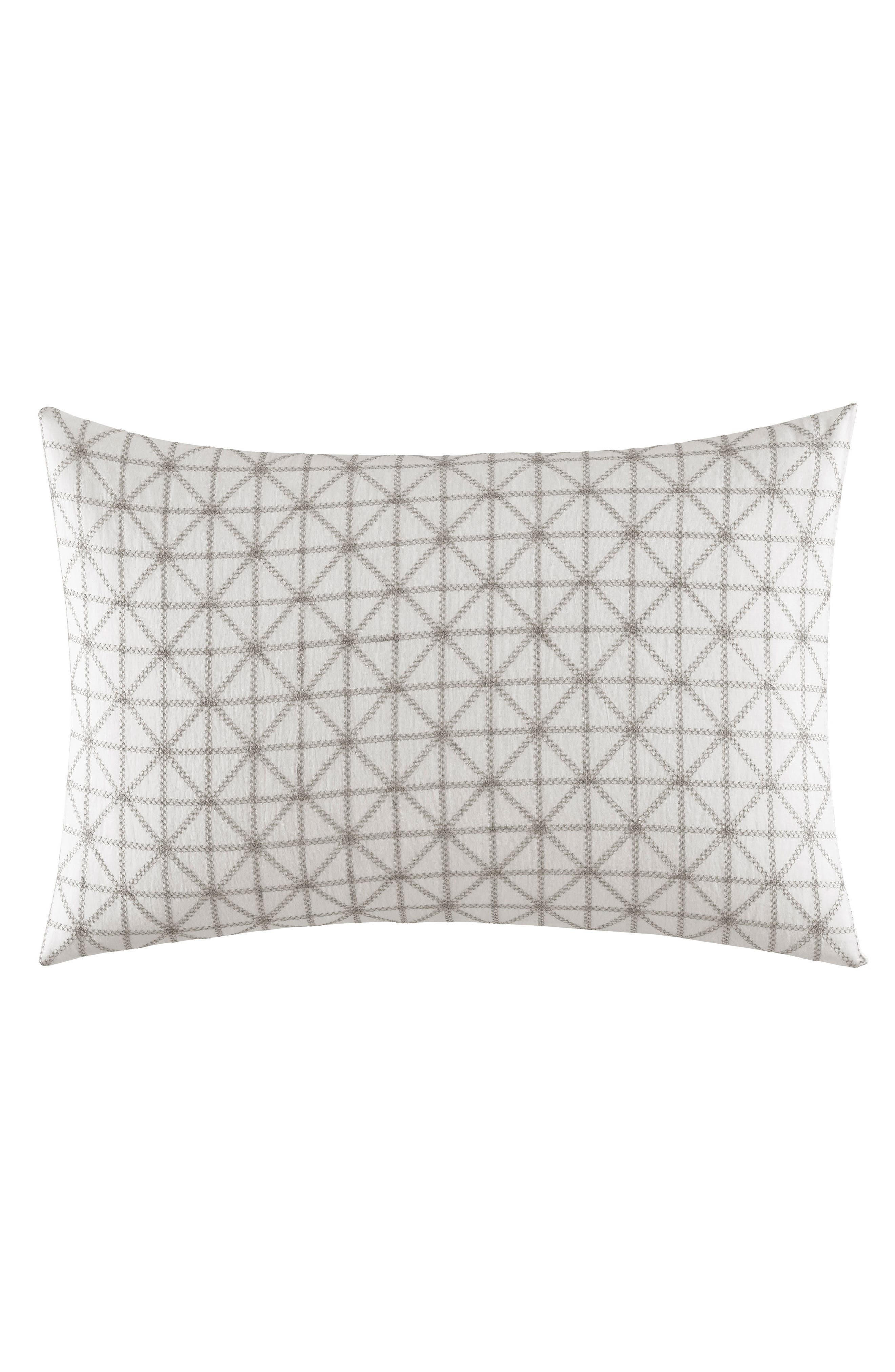 Mirrored Breakfast Accent Pillow,                         Main,                         color, Grey