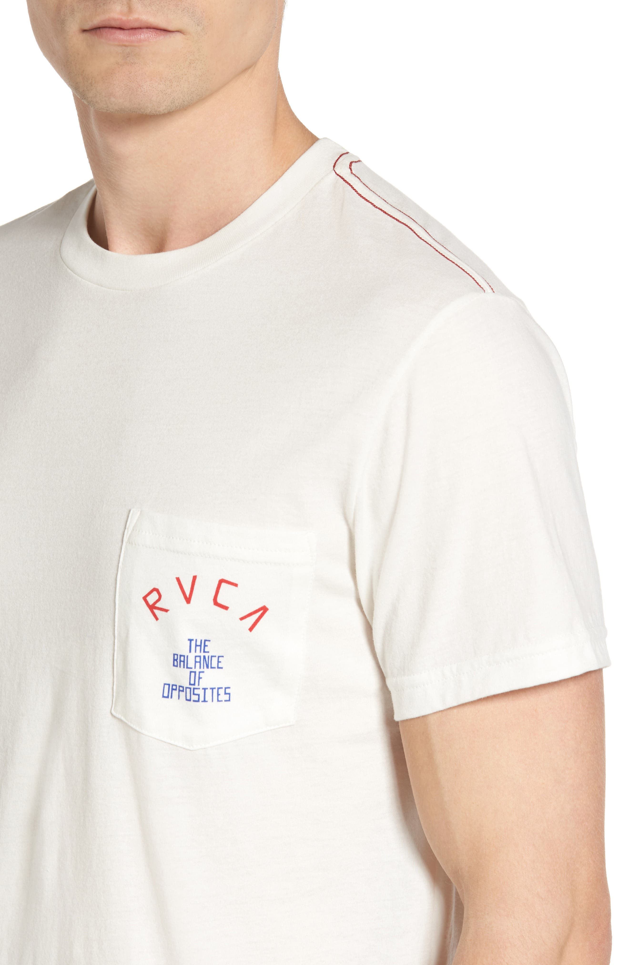 Alternate Image 4  - RVCA Stoop Music Pocket Graphic T-Shirt