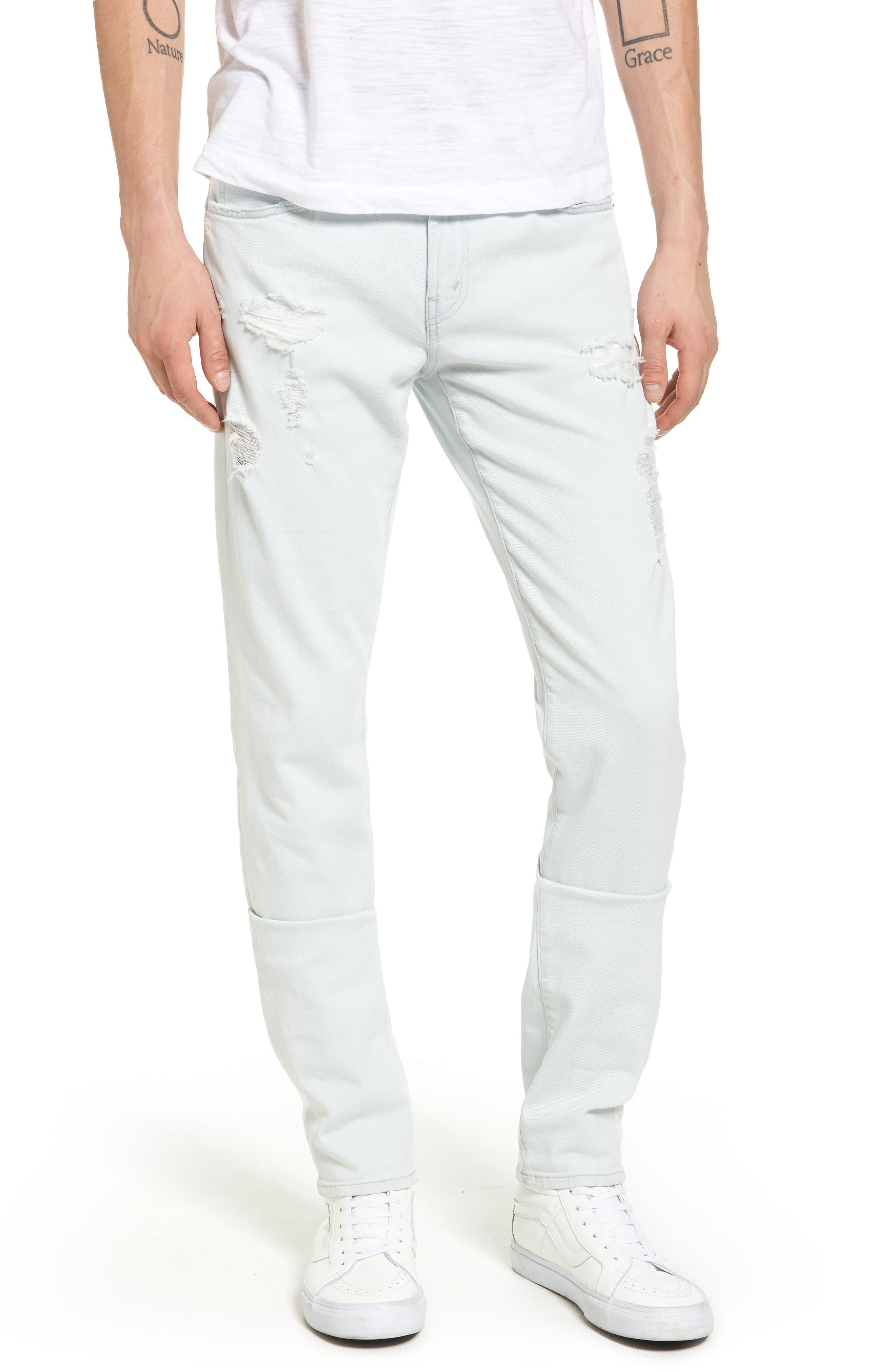 J Brand Skinny Fit Jeans (Aquilae)