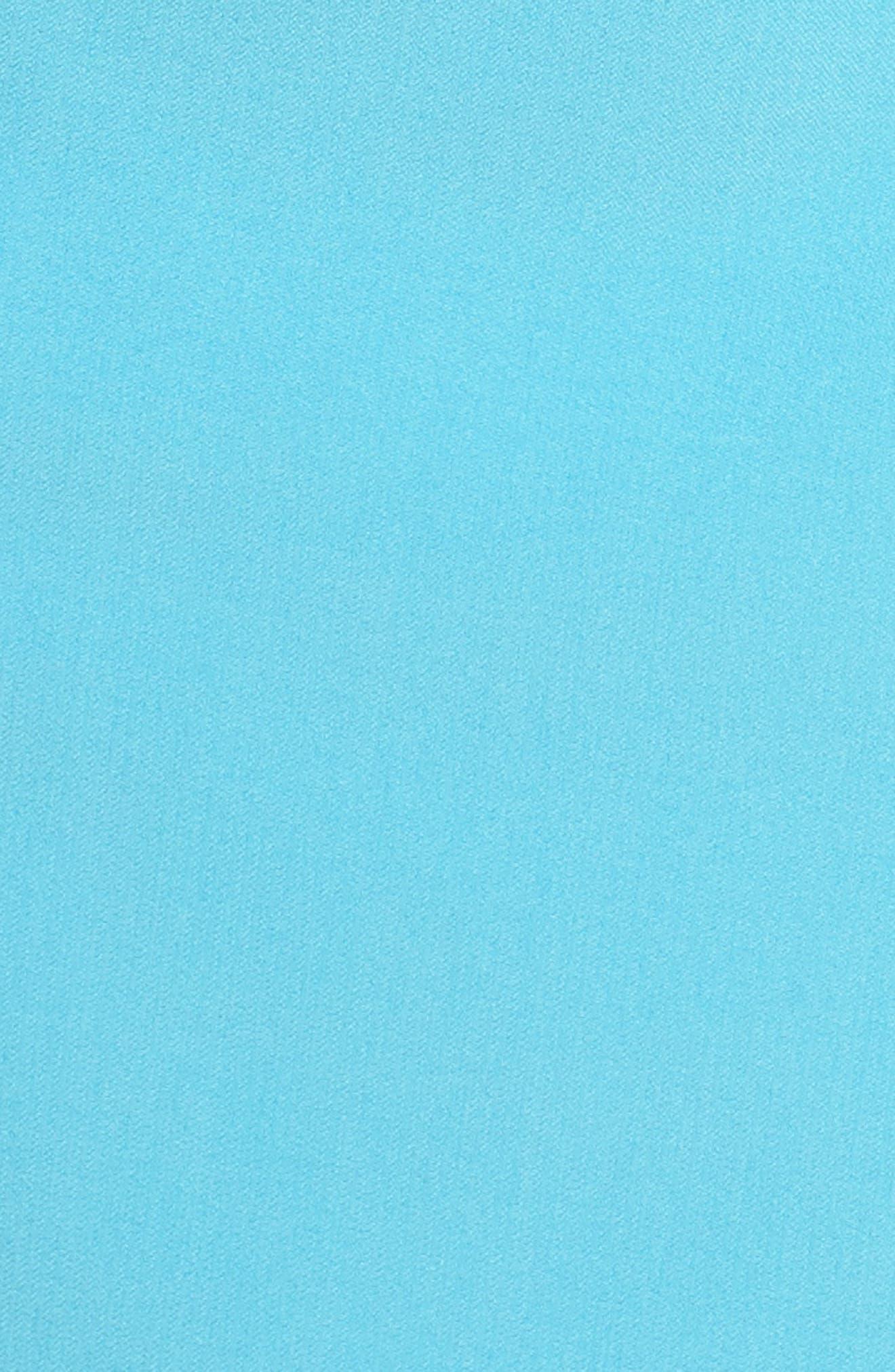 Stretch Sheath Dress,                             Alternate thumbnail 5, color,                             Pacific Blue