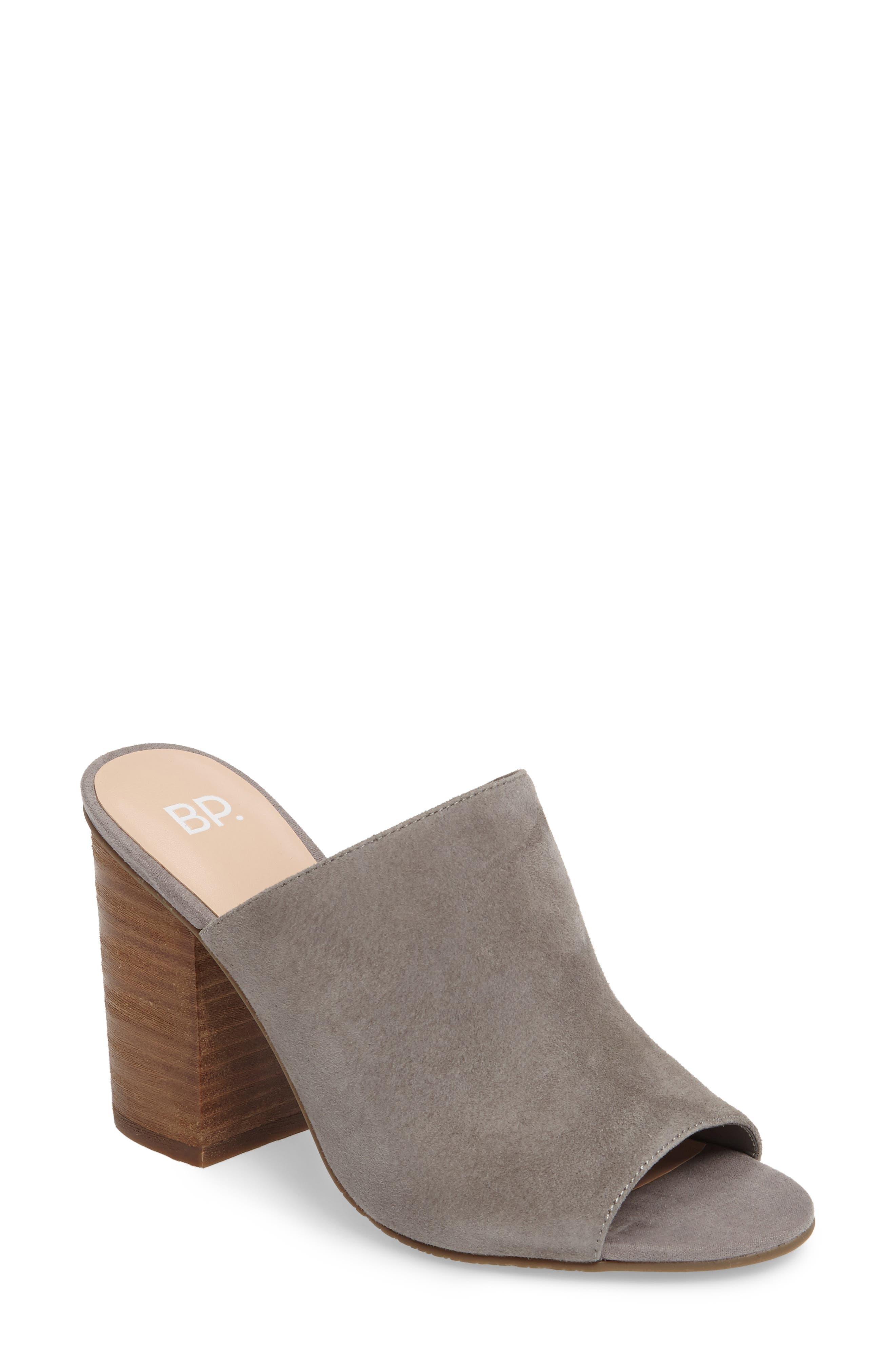 Tale 2 Mule,                         Main,                         color, Grey Suede
