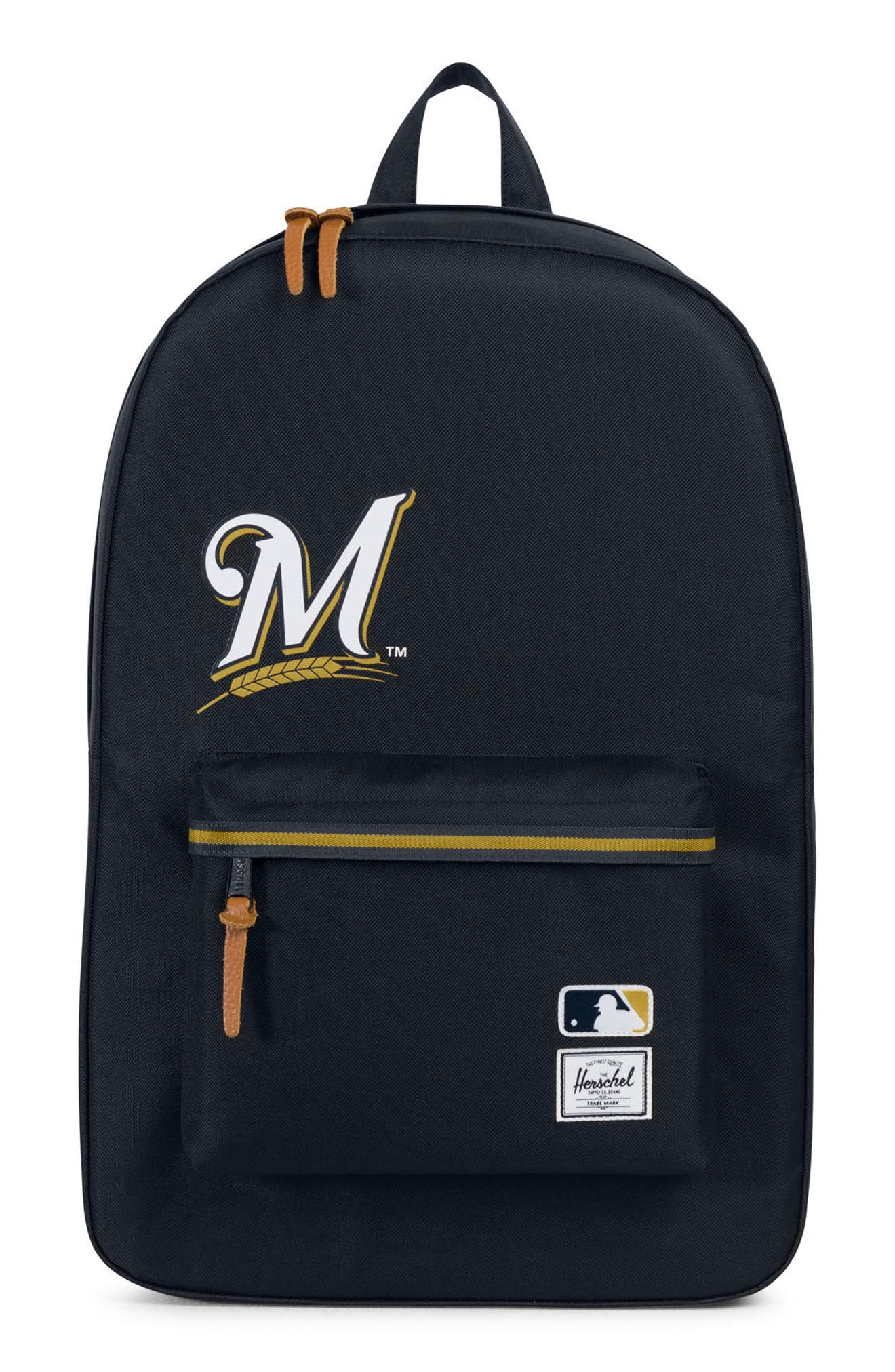 Heritage Milwaukee Brewers Backpack,                             Main thumbnail 1, color,                             Milwaukee Brewers