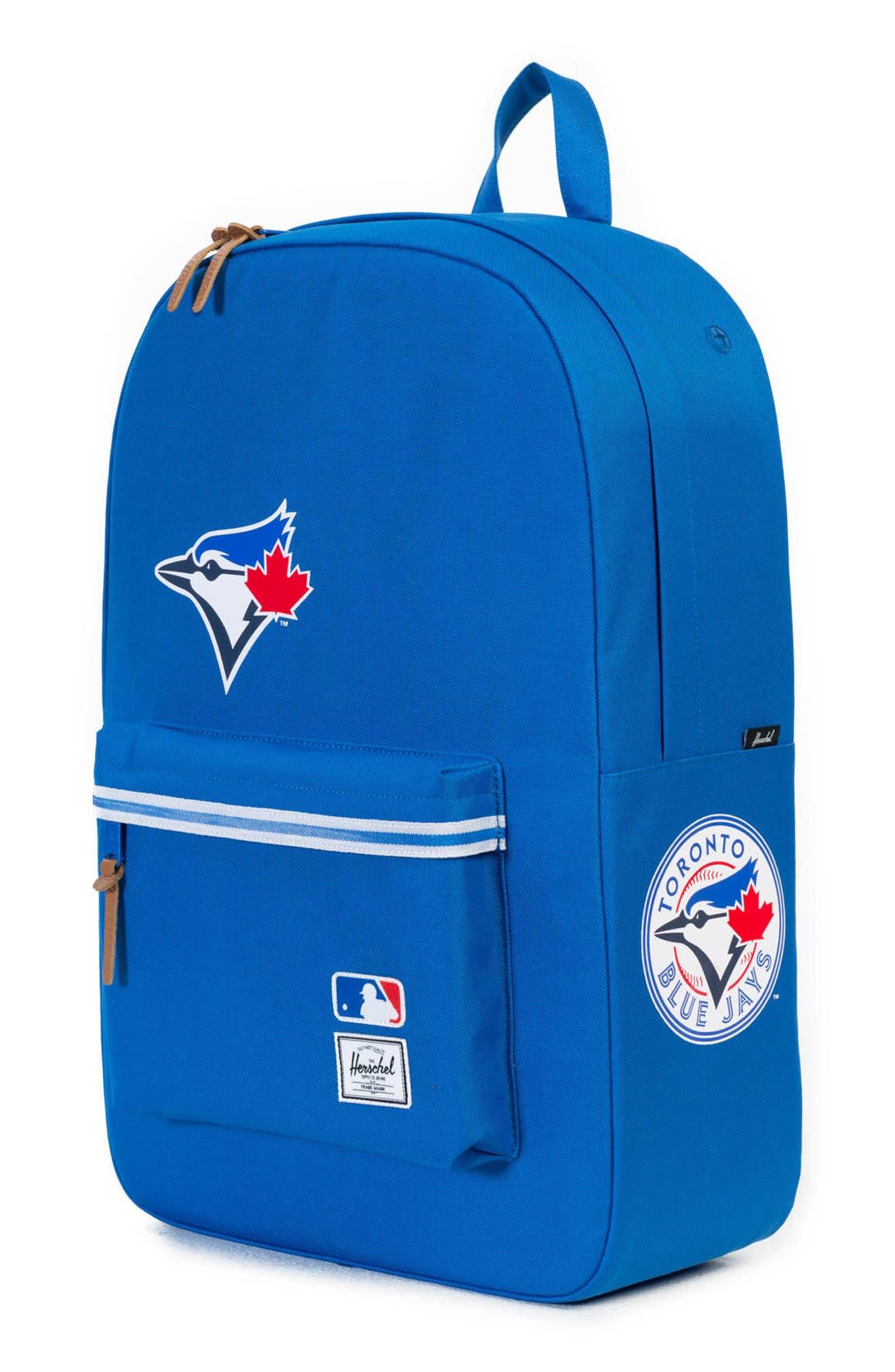 Heritage Toronto Blue Jays Backpack,                             Alternate thumbnail 4, color,                             Toronto Blue Jays