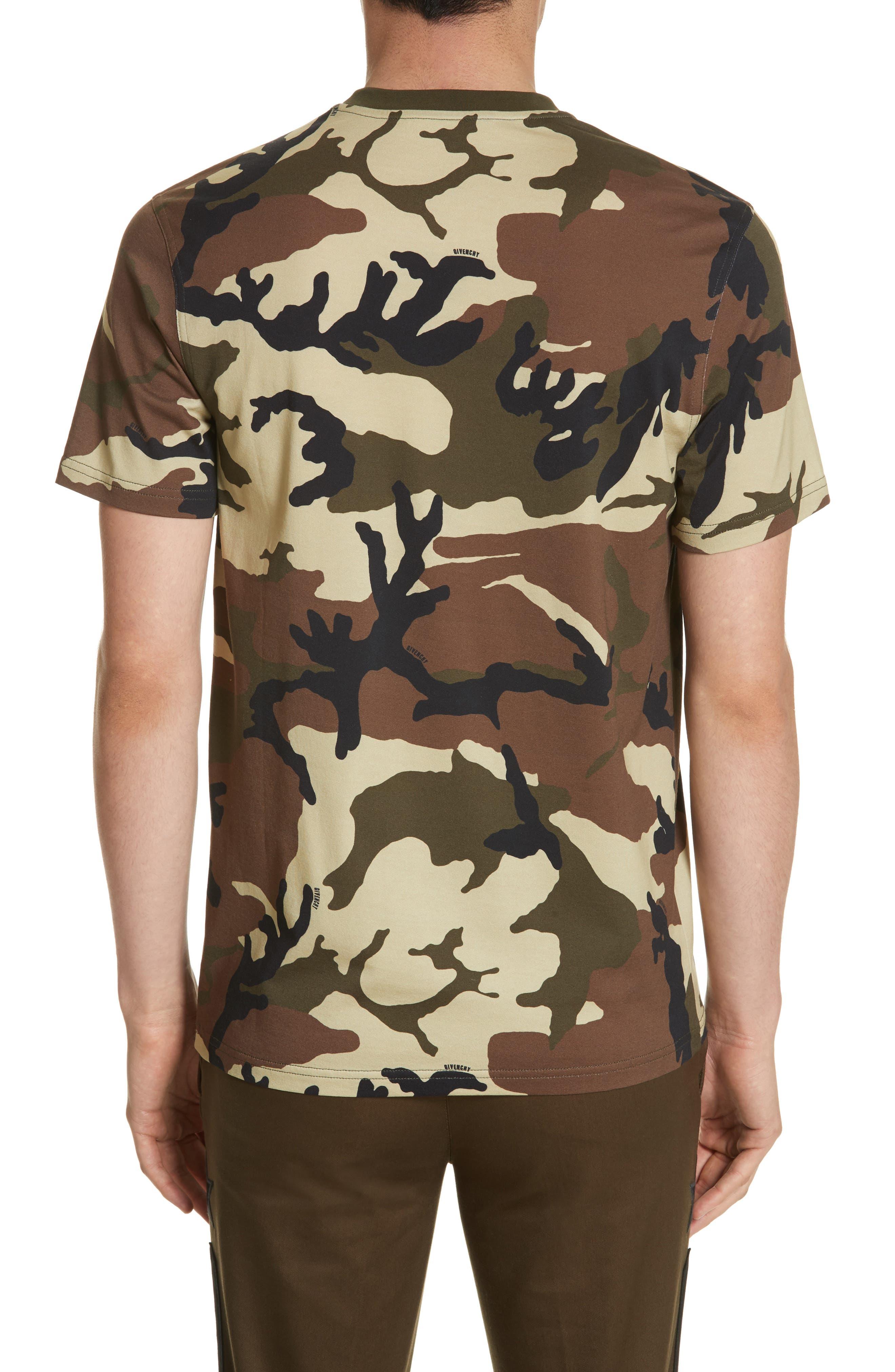 Alternate Image 2  - Givenchy Extra Trim Fit Camo Print T-Shirt