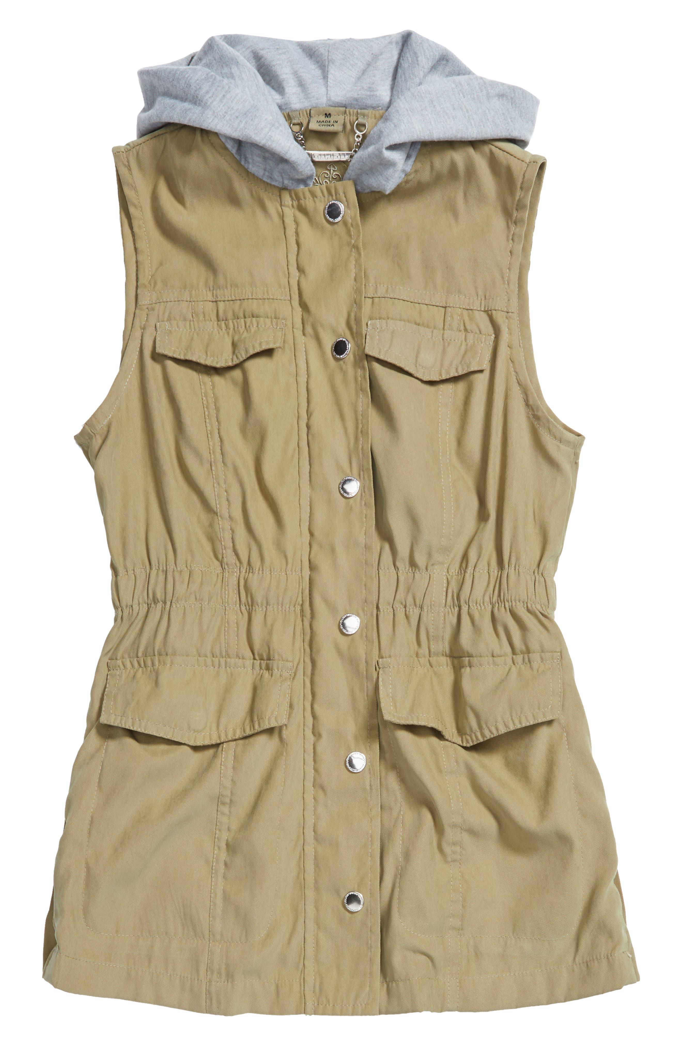 Jou Jou Hooded Vest (Big Girls)