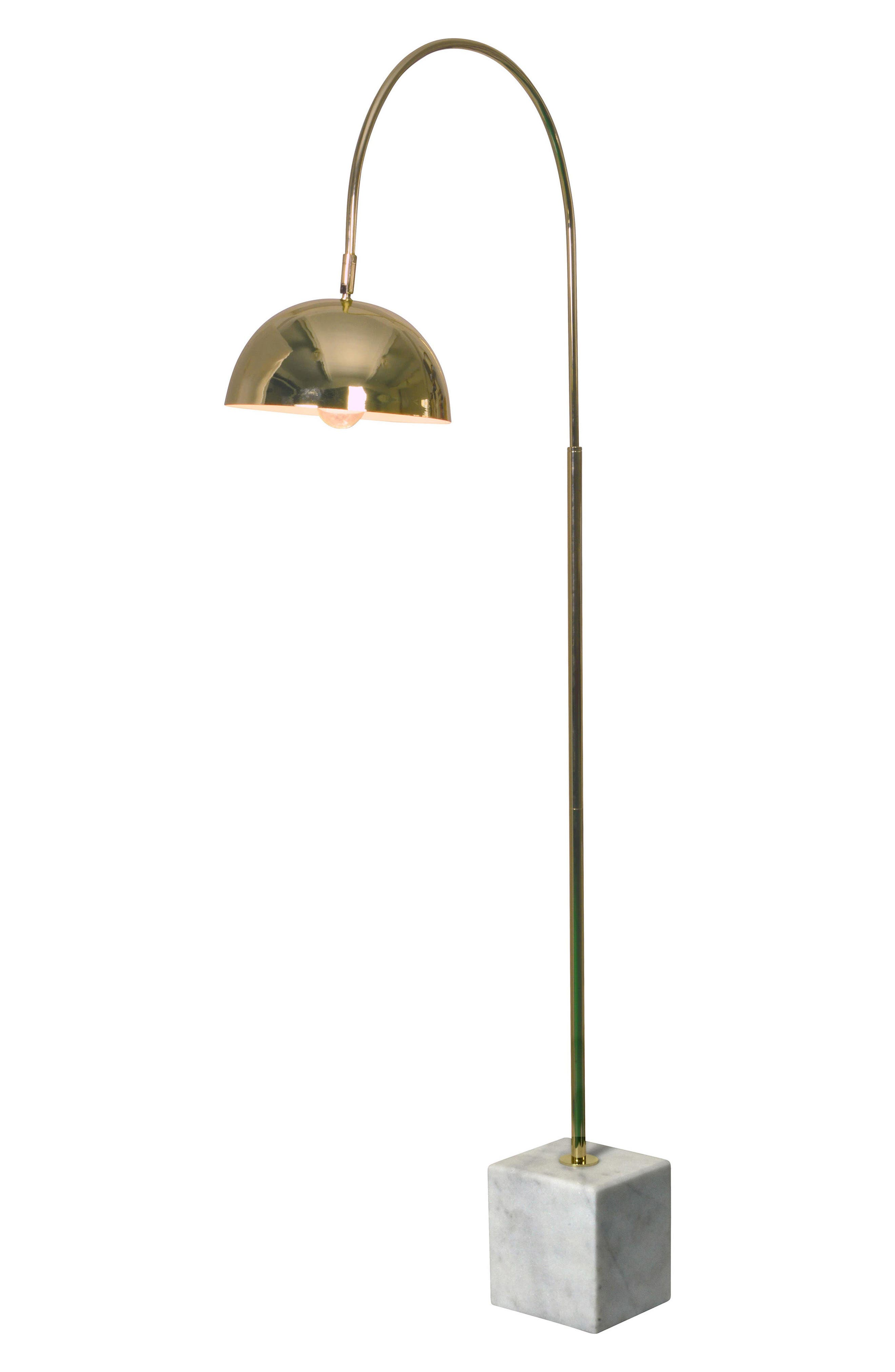 Polished Floor Lamp,                             Main thumbnail 1, color,                             Polished Brass