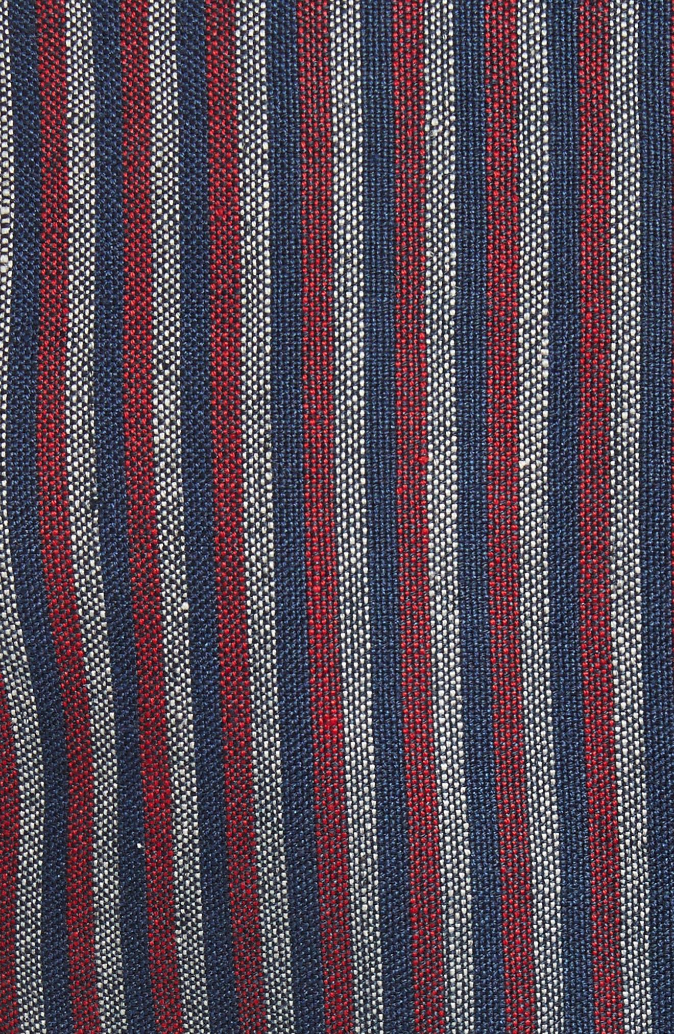 Alternate Image 5  - Smythe Stripe Cotton Blazer