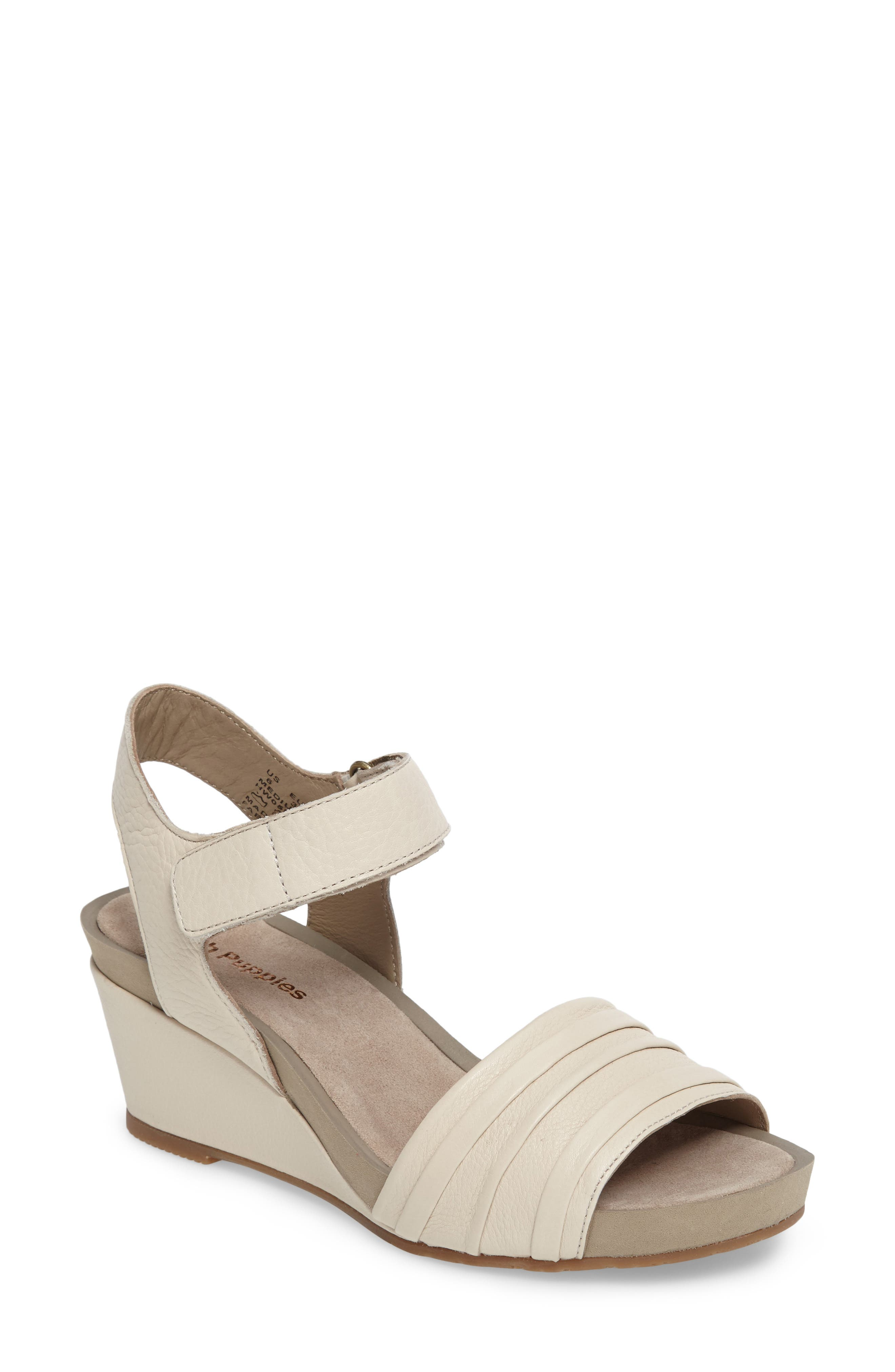 HUSH PUPPIES<SUP>®</SUP> Eviee Cassale Wedge Sandal