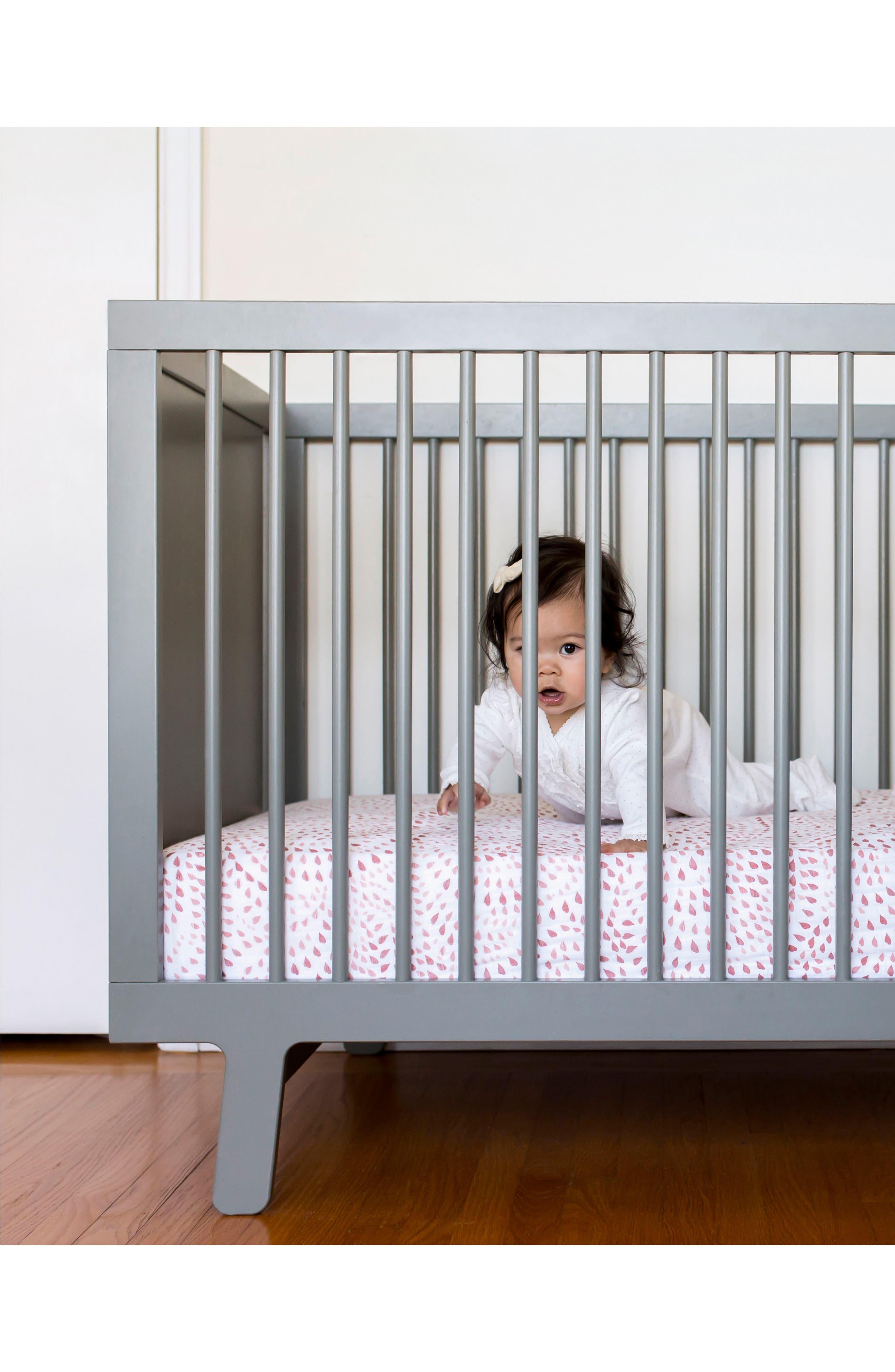 Alternate Image 3  - Bébé au Lait Muslin Crib Sheet
