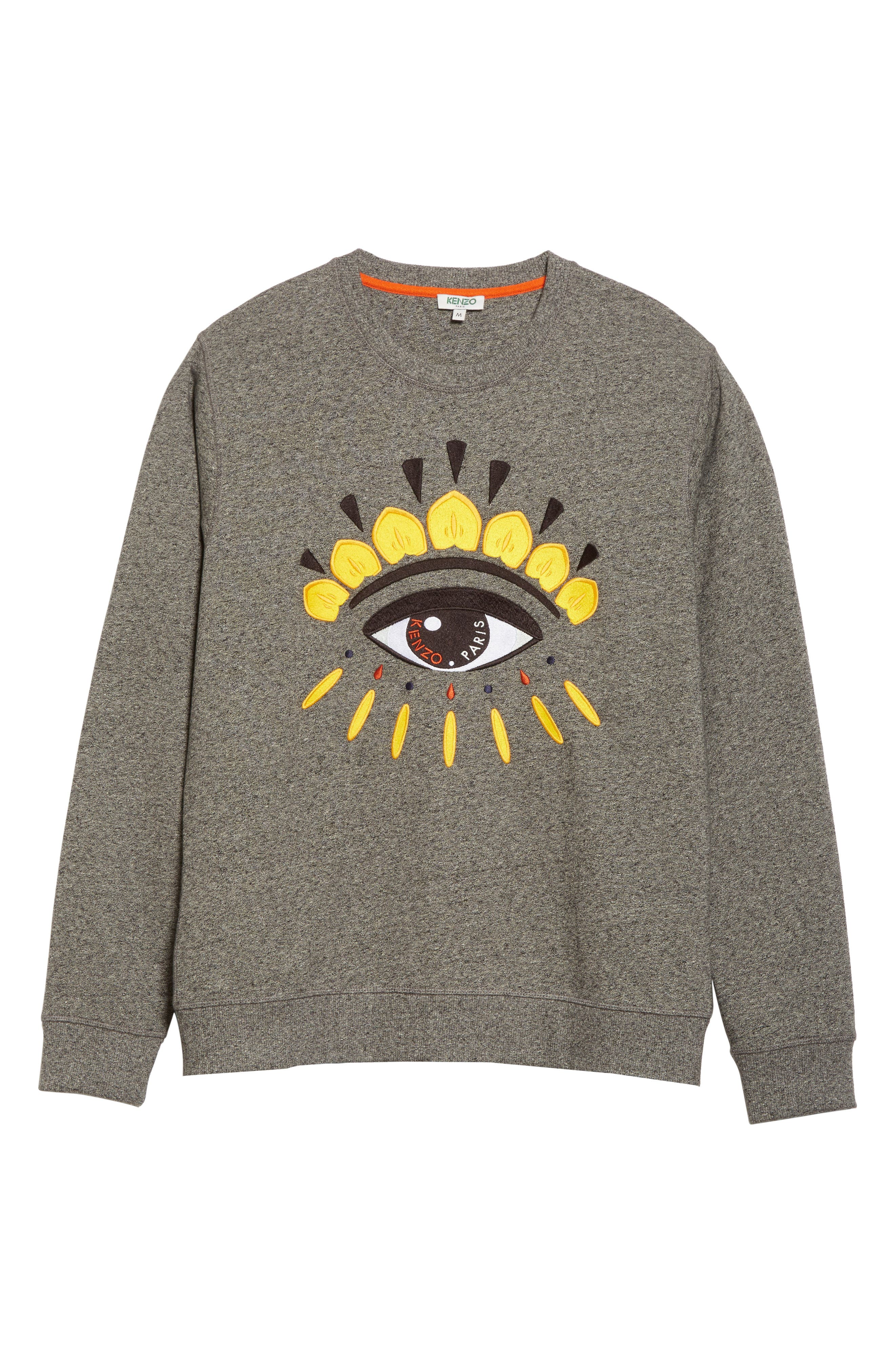 Alternate Image 6  - KENZO Eye Graphic Sweatshirt