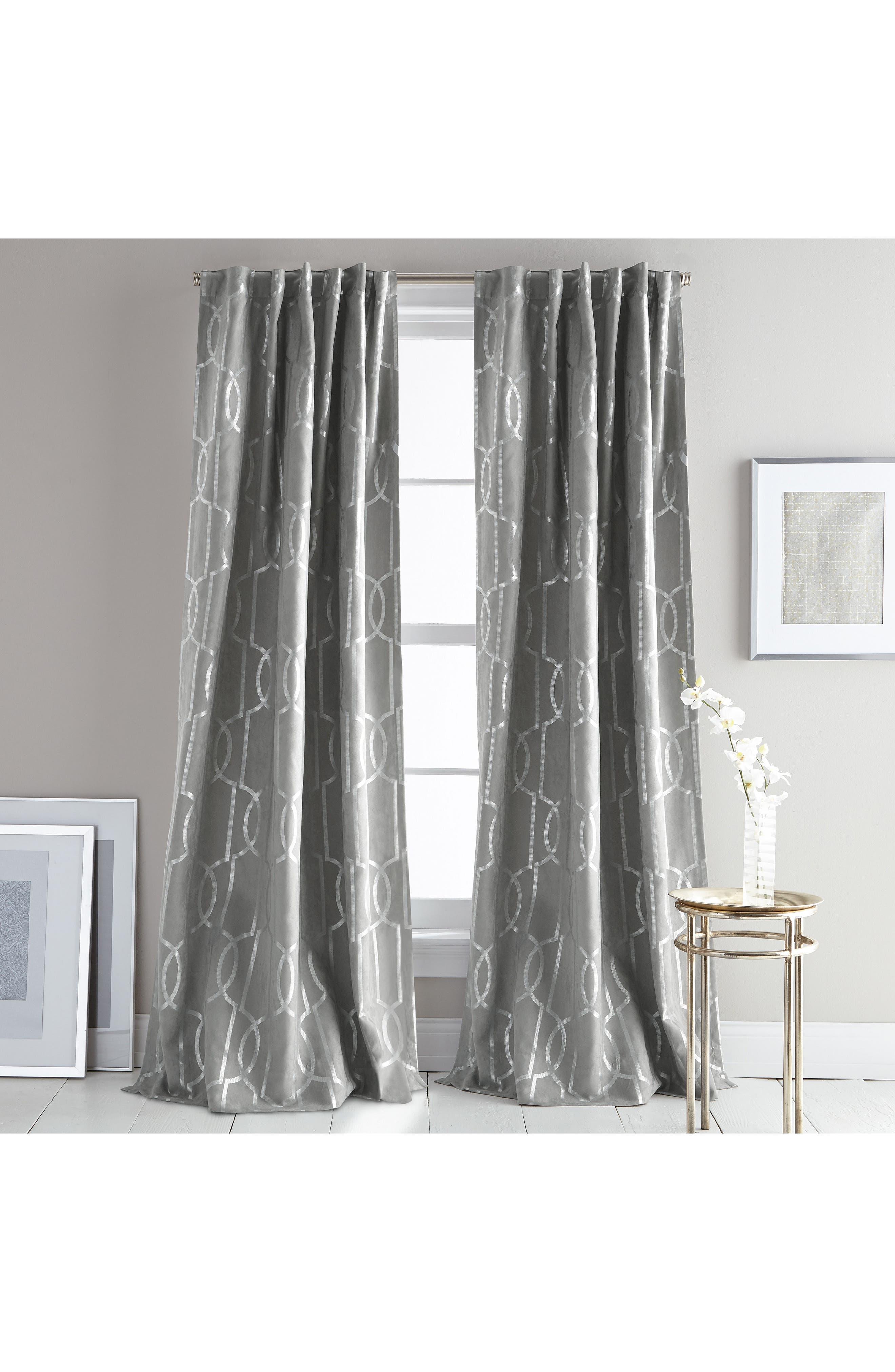 Atrium Set of 2 Window Panels,                             Main thumbnail 1, color,                             Grey
