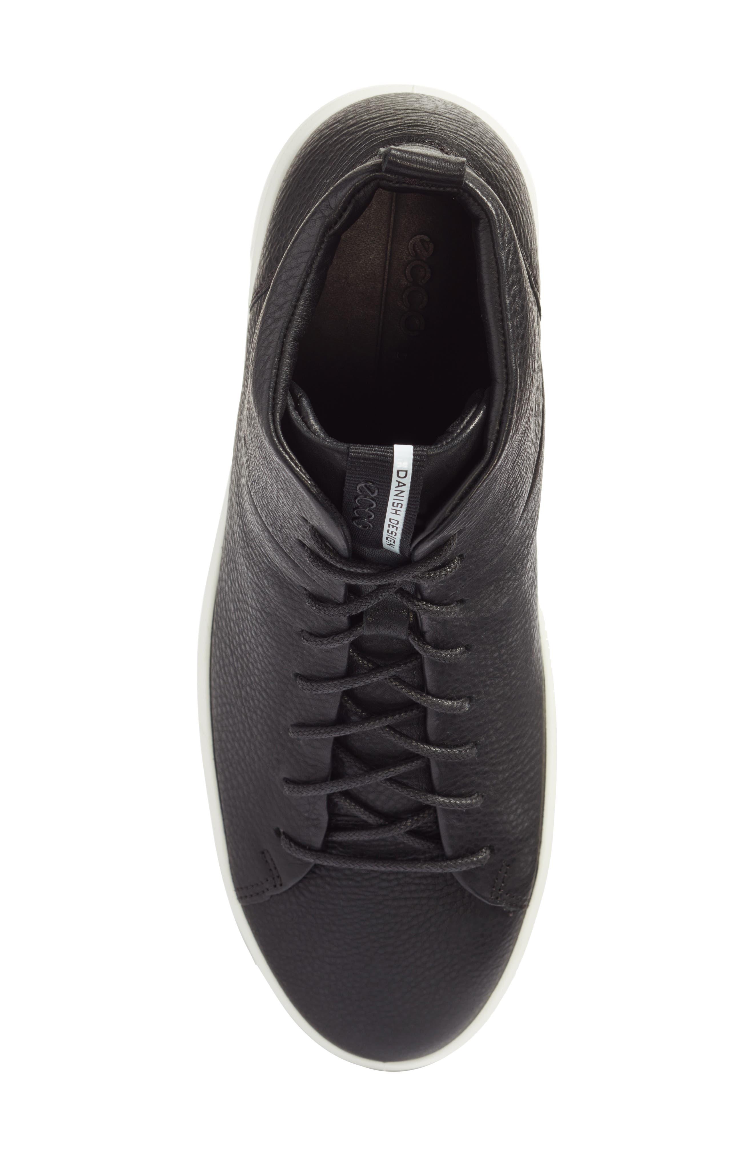 Soft 8 Sneaker,                             Alternate thumbnail 4, color,                             New Black