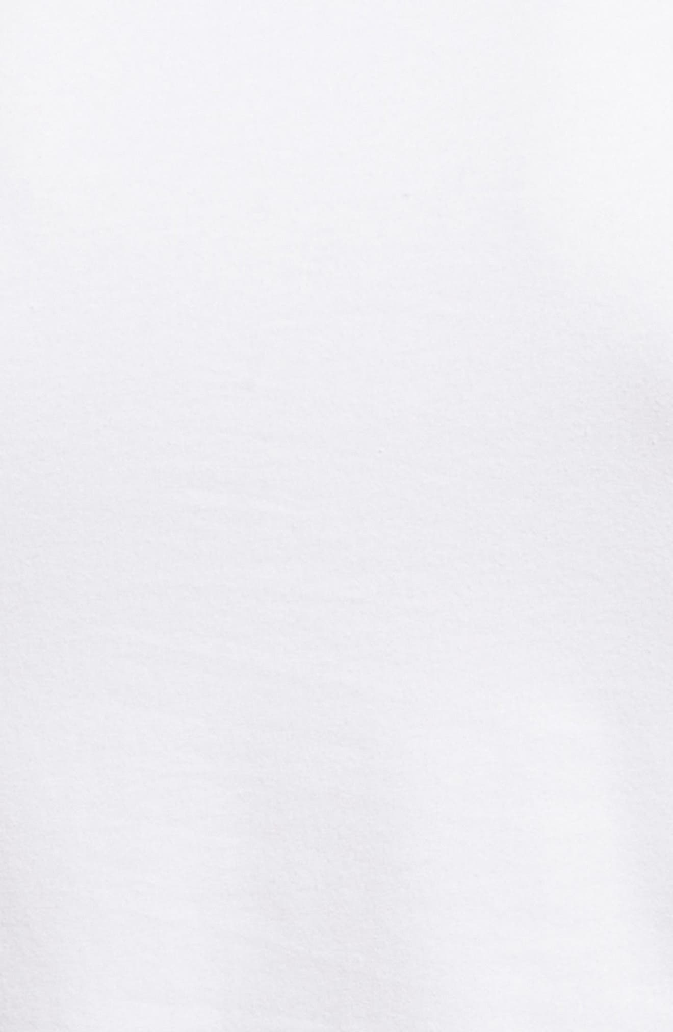 Alternate Image 5  - Nordstrom Men's Shop Trim Fit 3-Pack Stretch Cotton Crewneck T-Shirt
